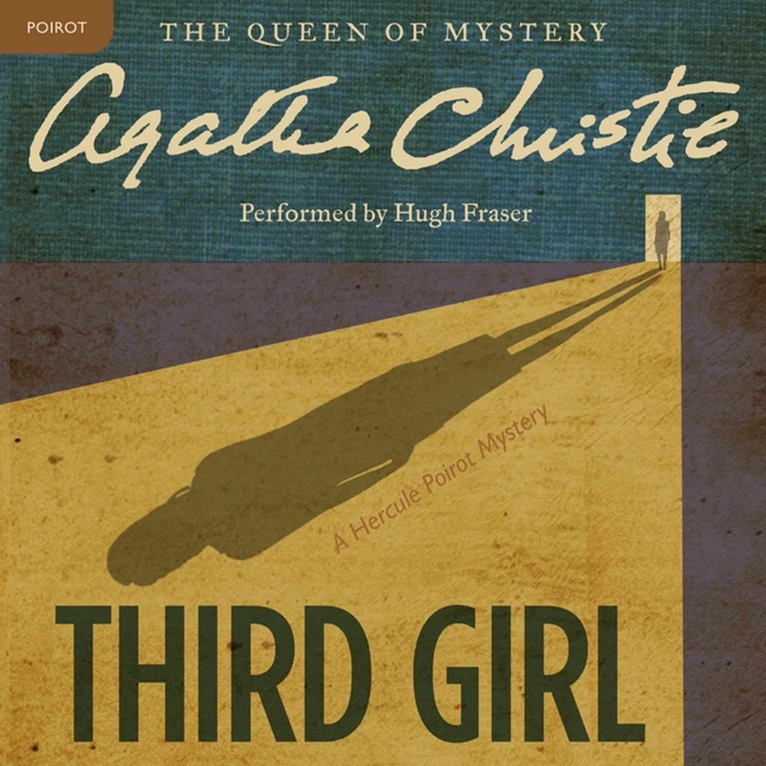 Printable Third Girl: A Hercule Poirot Mystery Audiobook Cover Art