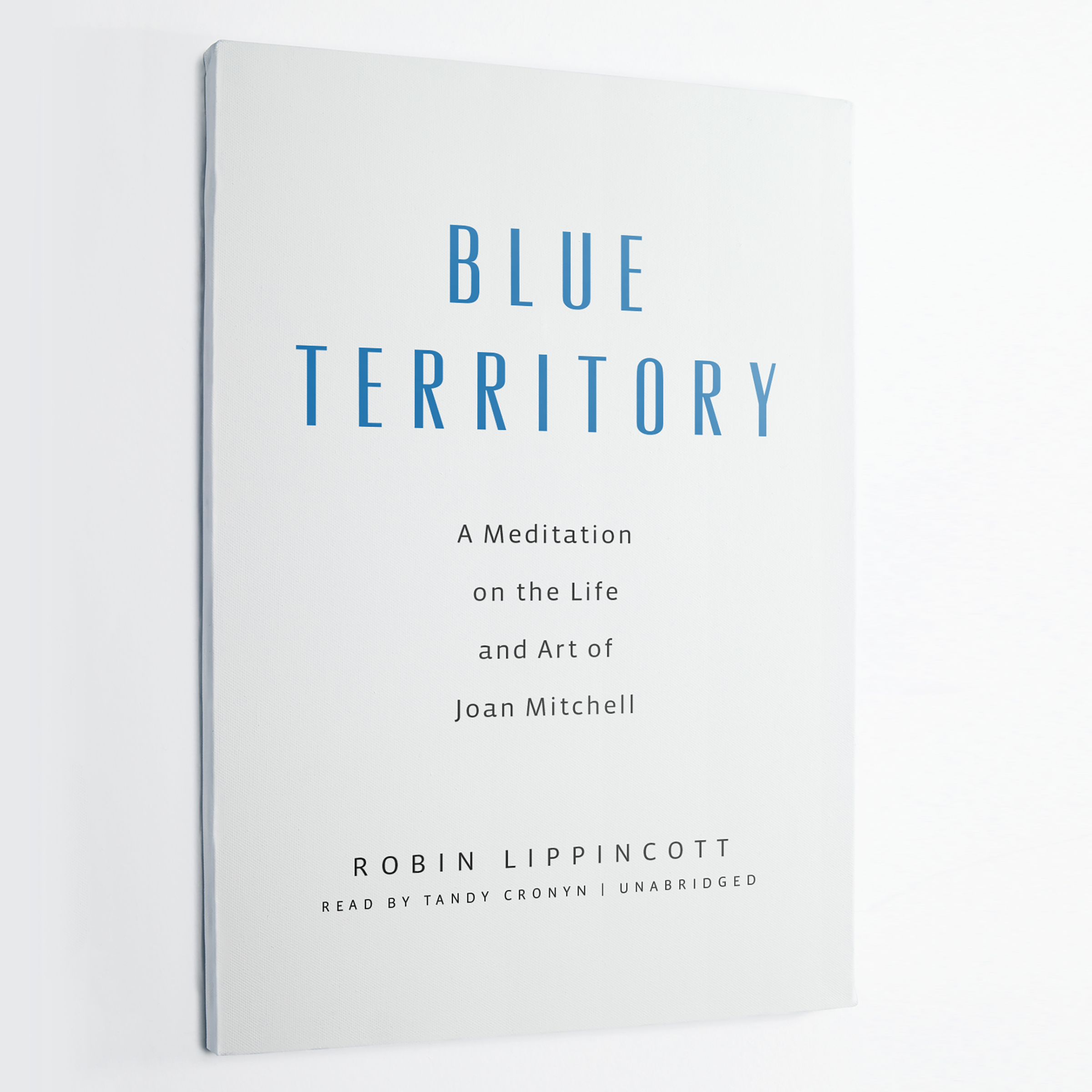 Printable Blue Territory: A Meditation on the Life and Art of Joan Mitchell Audiobook Cover Art