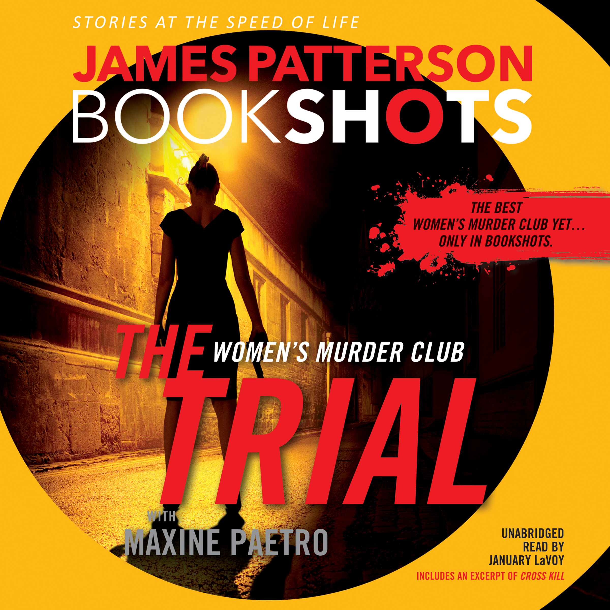 Printable The Trial: A BookShot: A Women's Murder Club Story Audiobook Cover Art