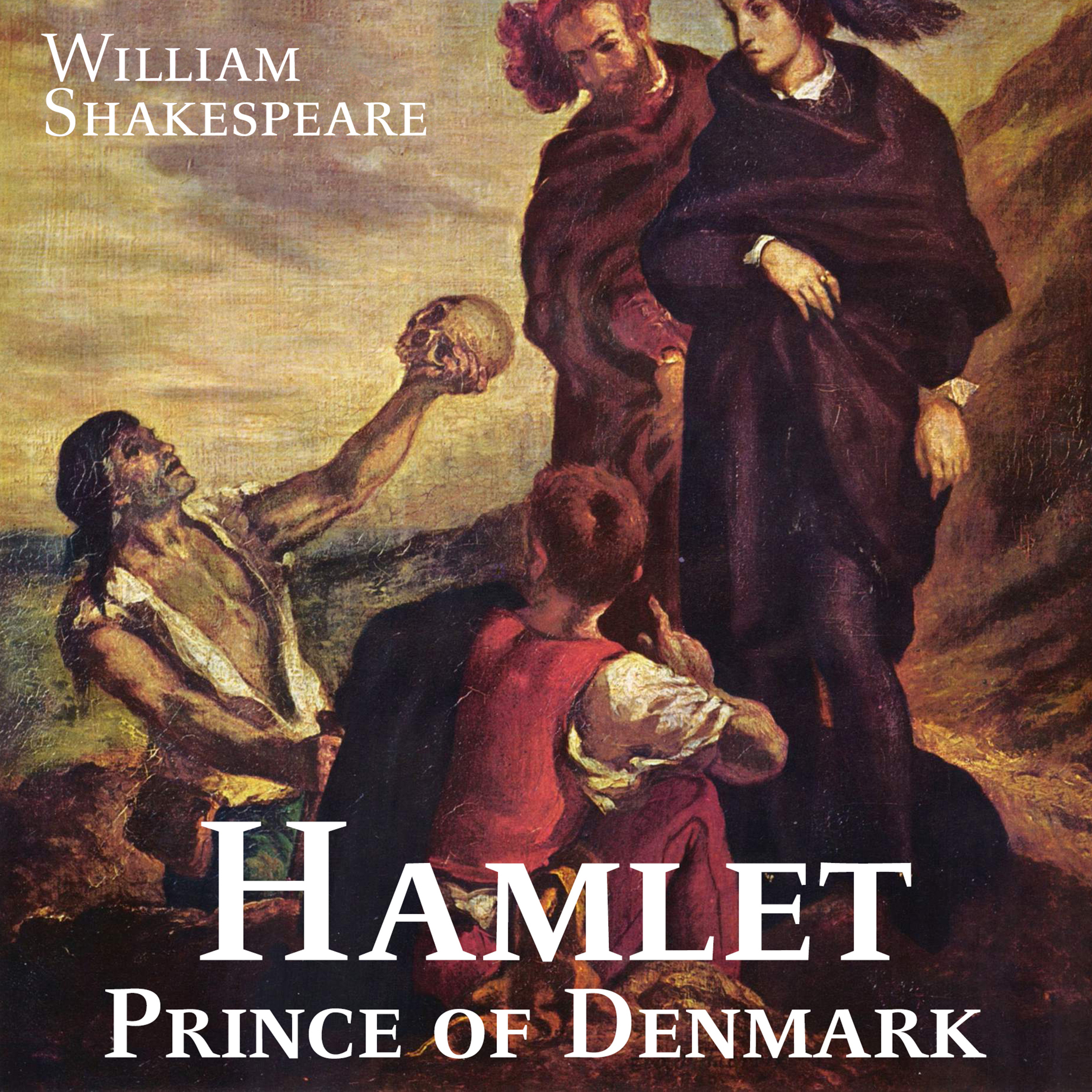 Printable Hamlet, Prince of Denmark Audiobook Cover Art