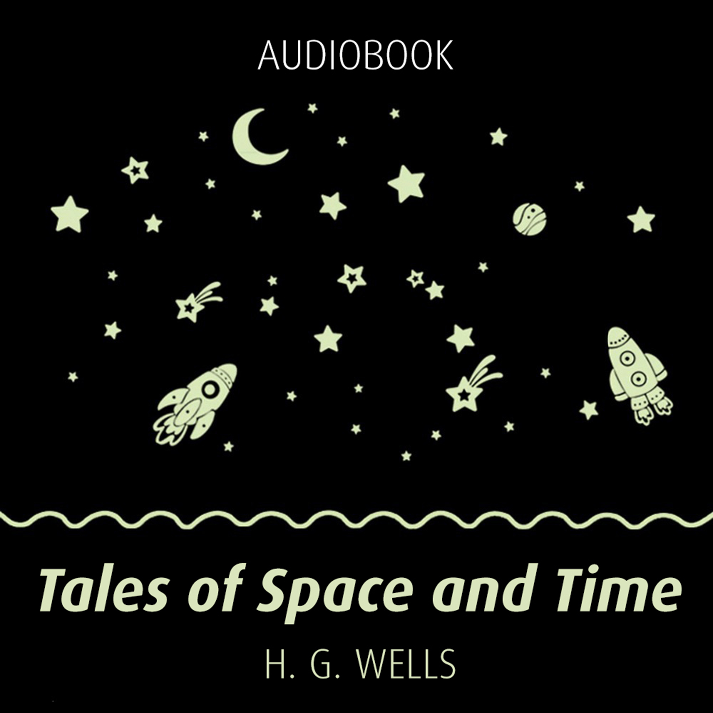 Printable Tales of Space and Time Audiobook Cover Art