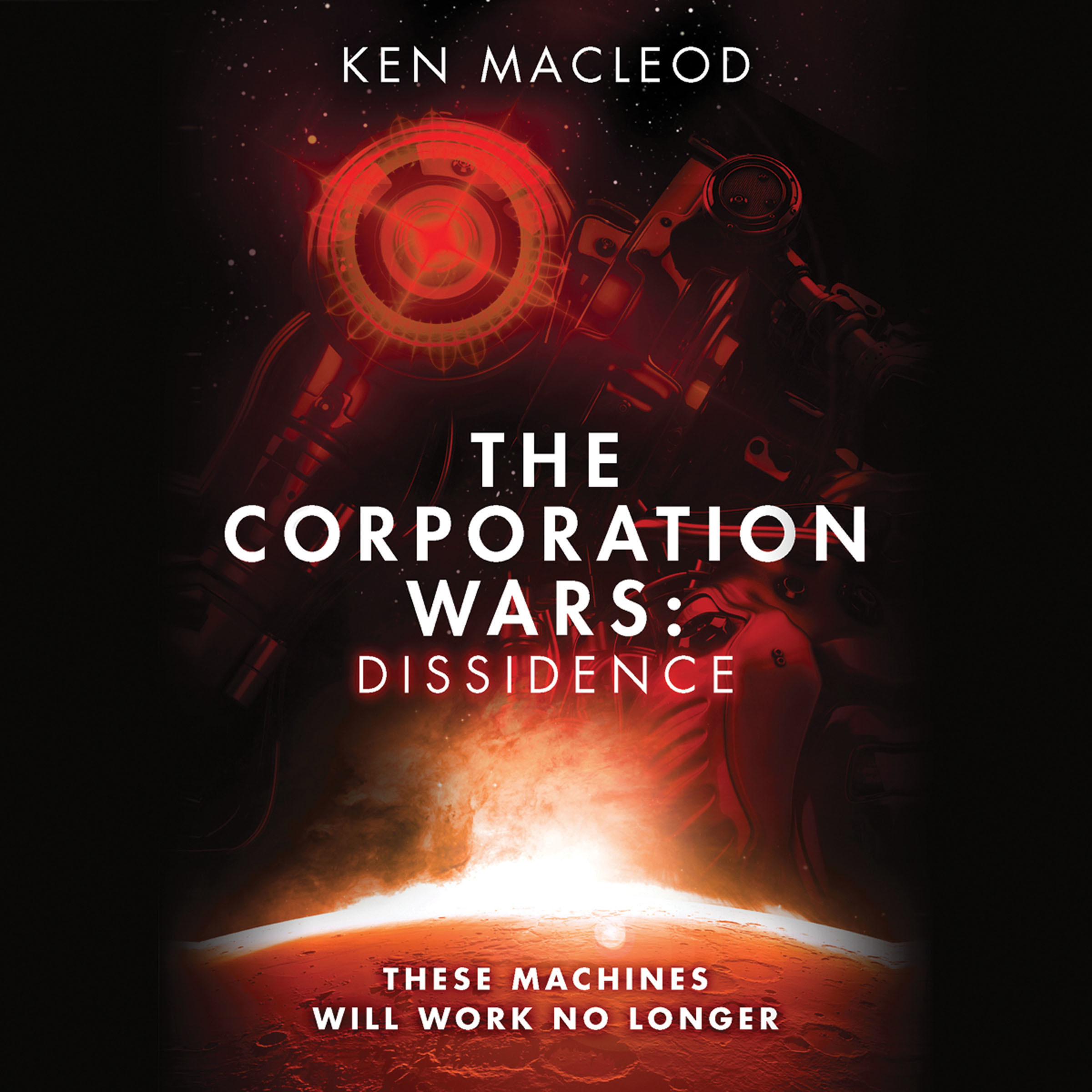 Printable The Corporation Wars: Dissidence Audiobook Cover Art