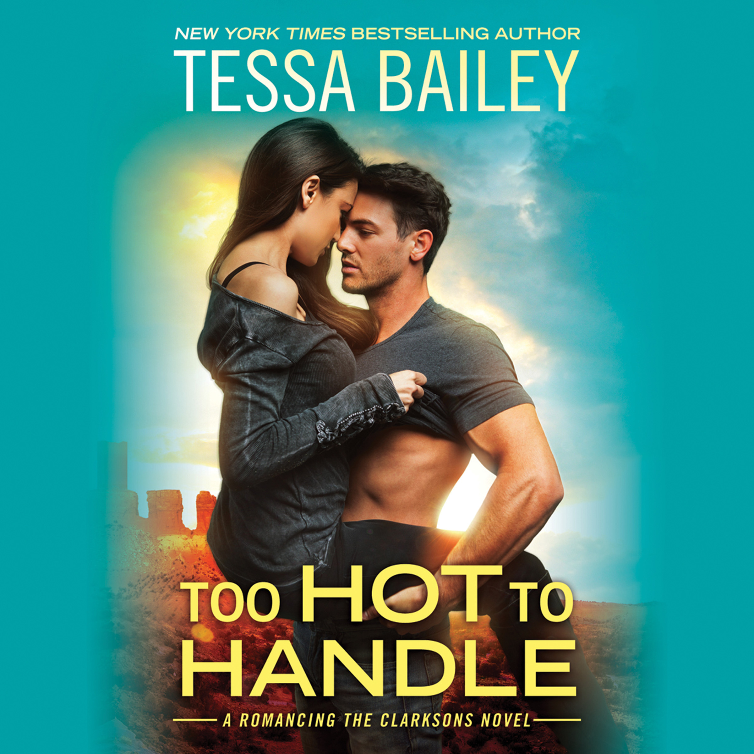 Printable Too Hot To Handle Audiobook Cover Art