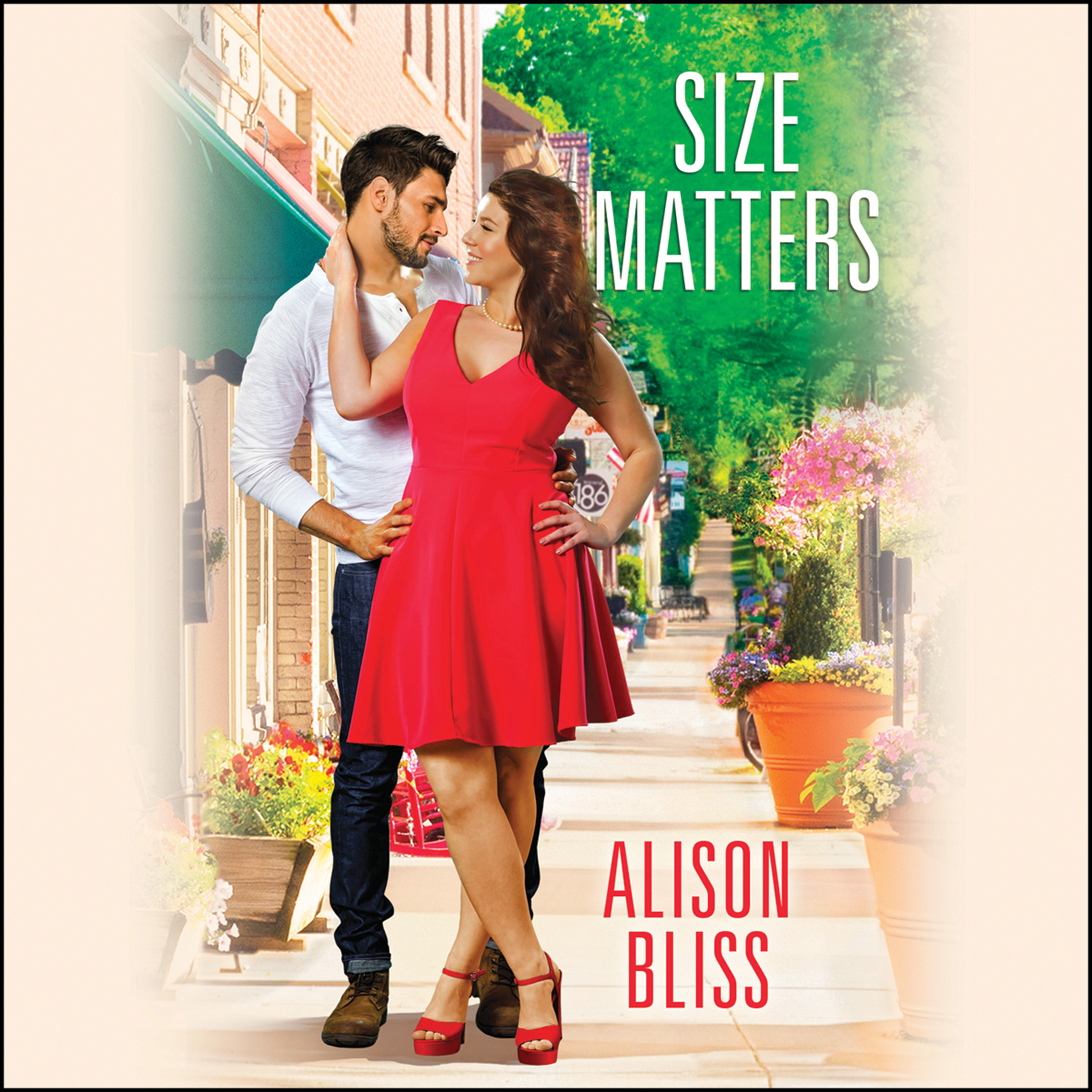 Printable Size Matters Audiobook Cover Art