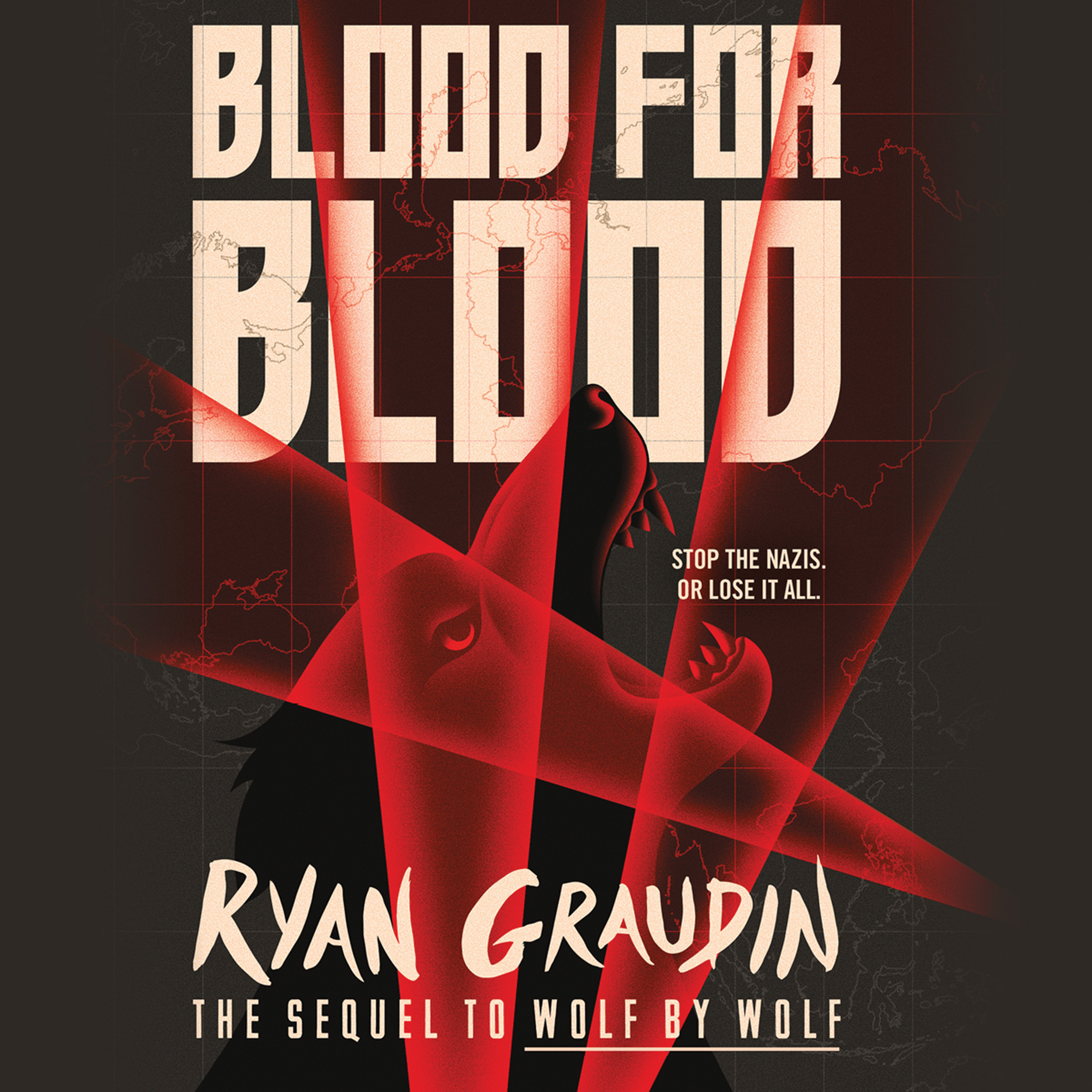 Printable Blood for Blood Audiobook Cover Art