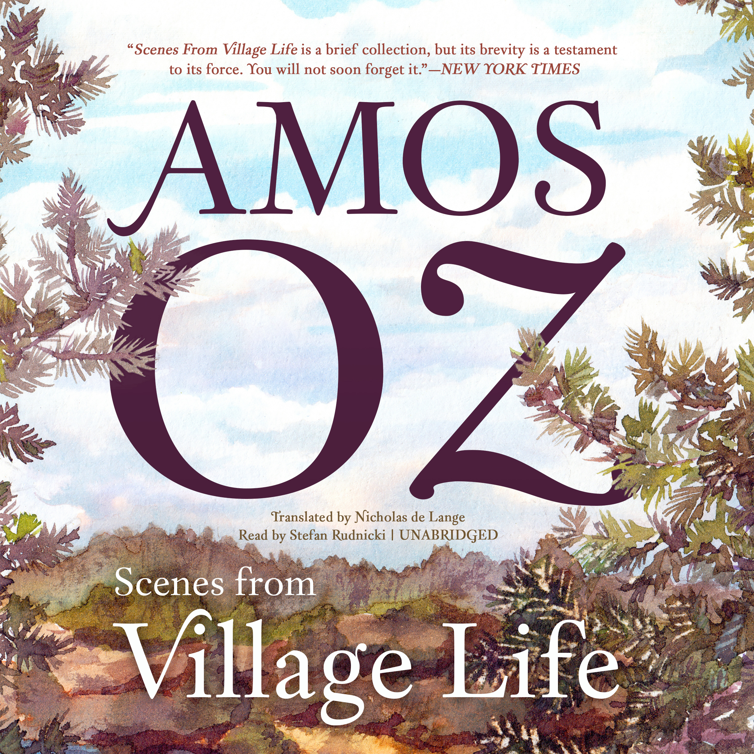 Printable Scenes from Village Life Audiobook Cover Art