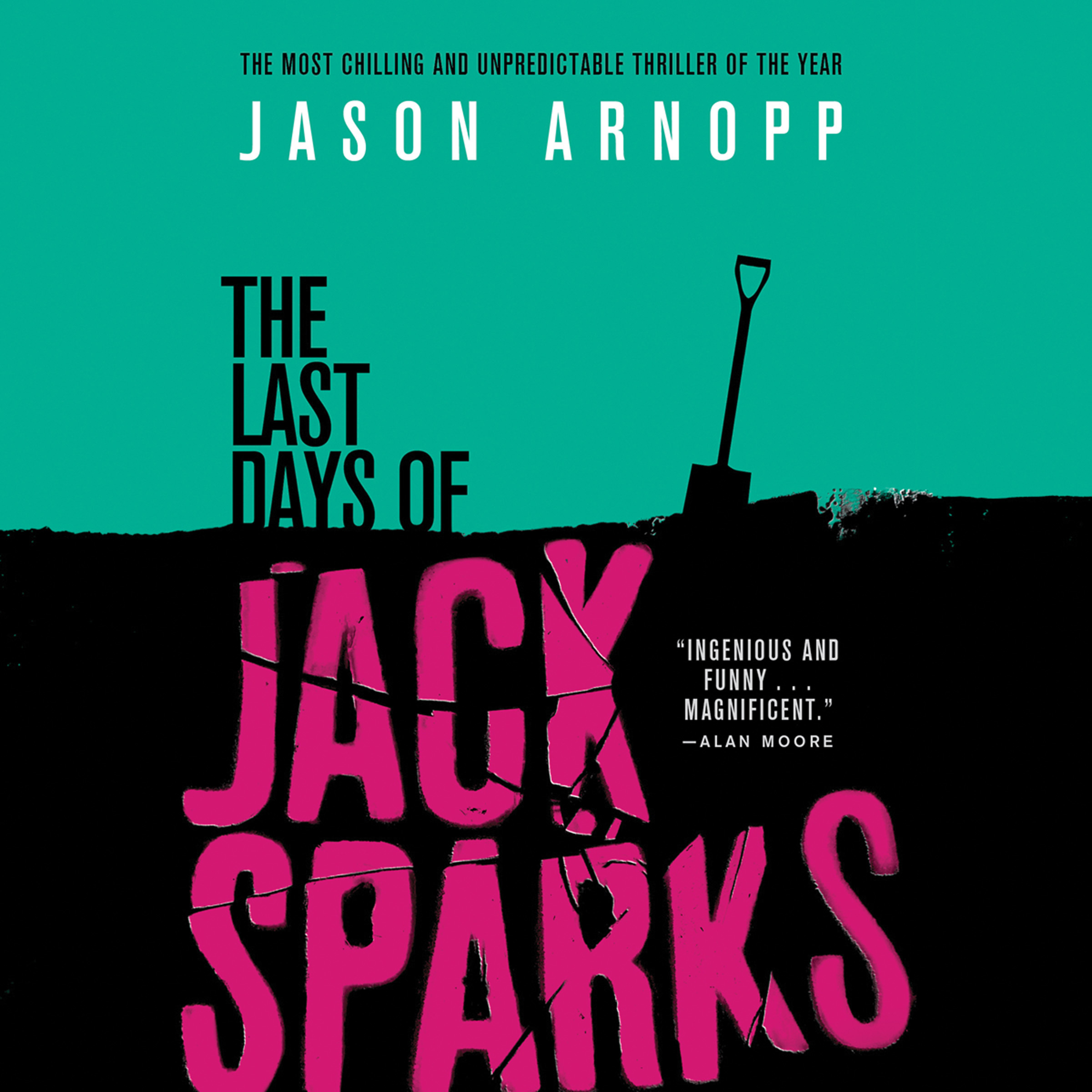 Printable The Last Days of Jack Sparks Audiobook Cover Art