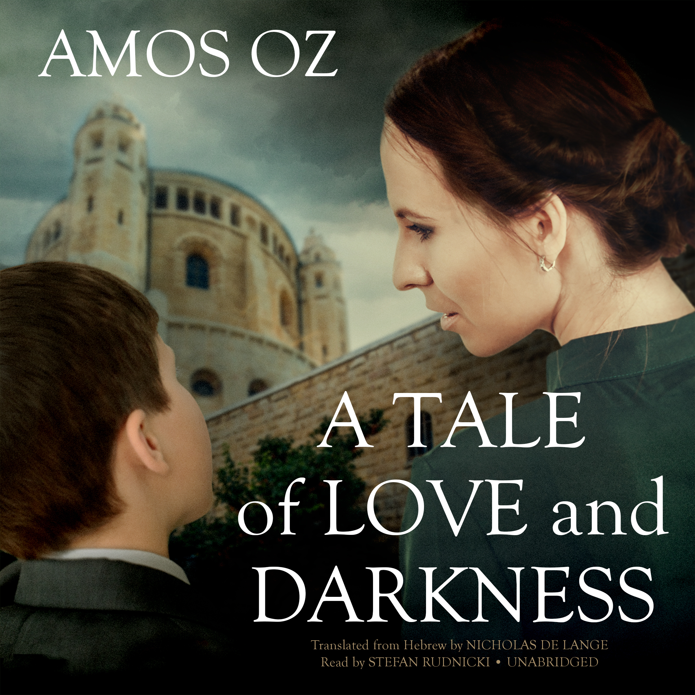 Printable A Tale of Love and Darkness Audiobook Cover Art