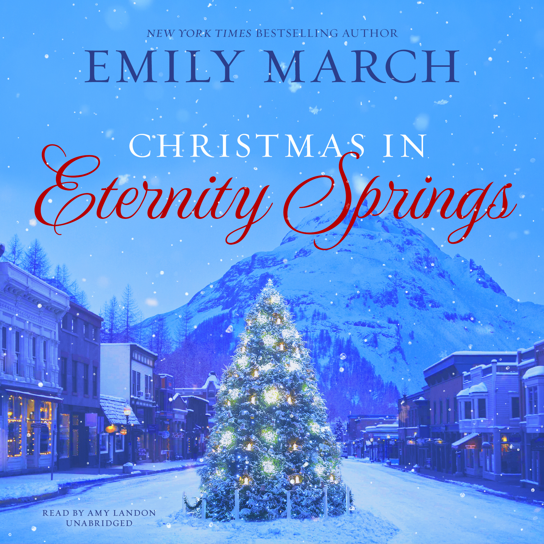 Printable Christmas in Eternity Springs Audiobook Cover Art