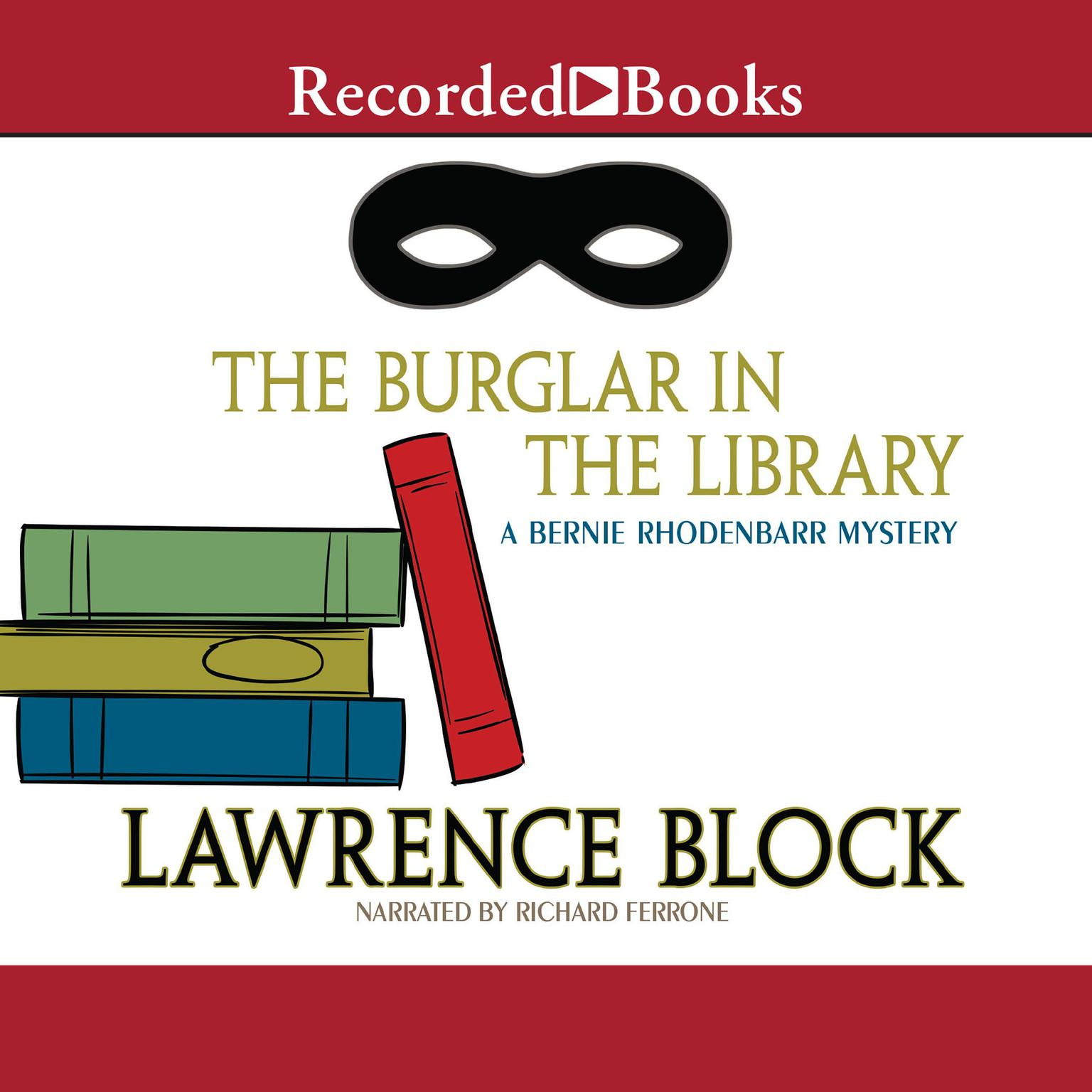 Printable The Burglar in the Library Audiobook Cover Art