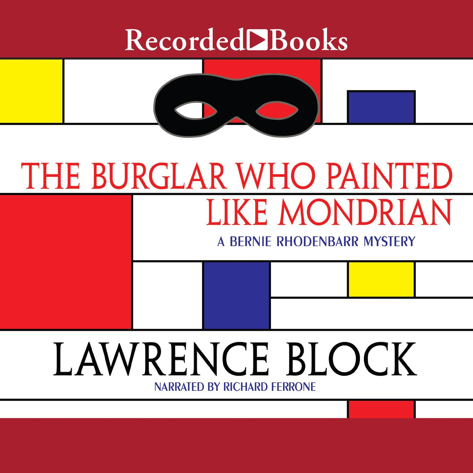 Printable The Burglar Who Painted Like Mondrian Audiobook Cover Art