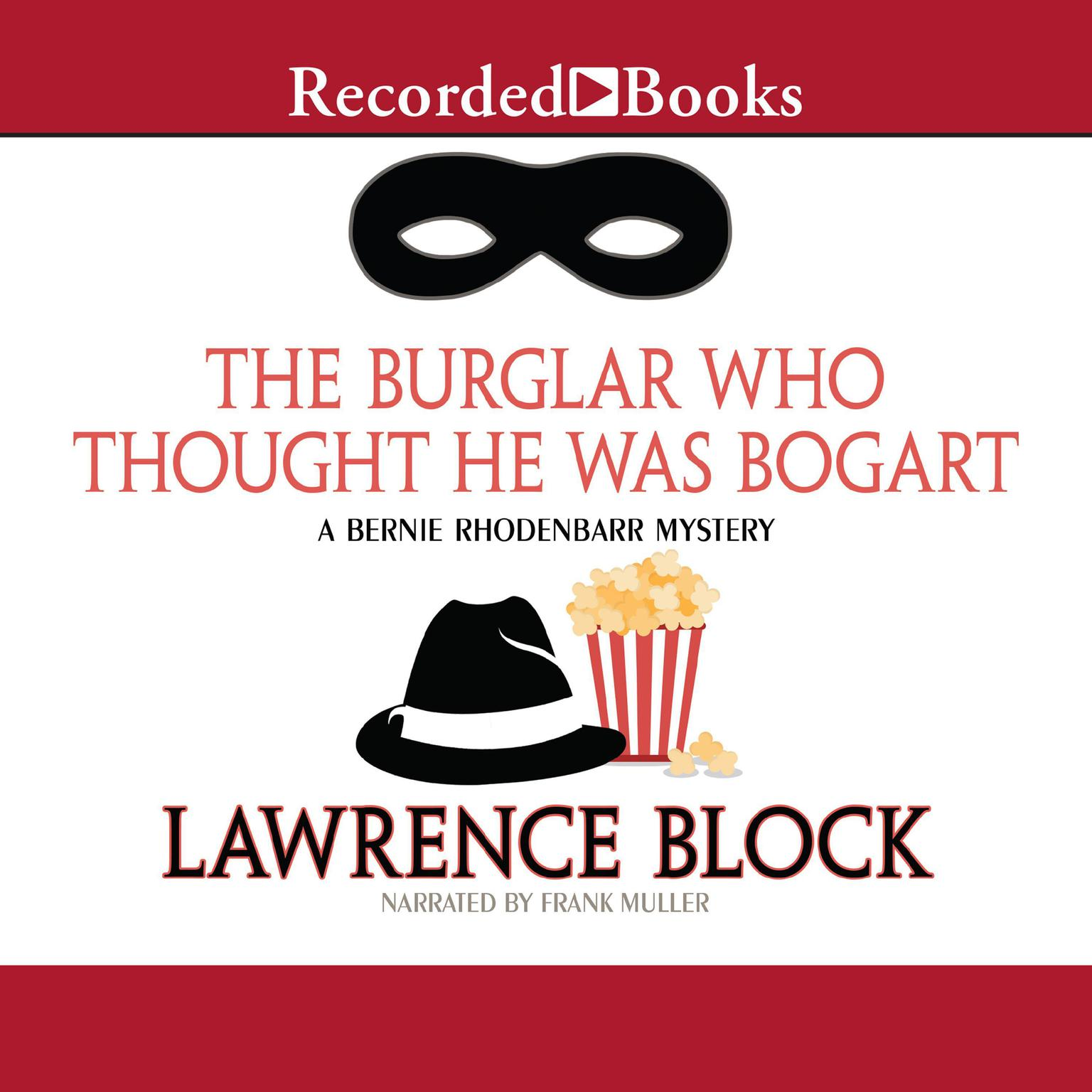 Printable The Burglar Who Thought He Was Bogart Audiobook Cover Art