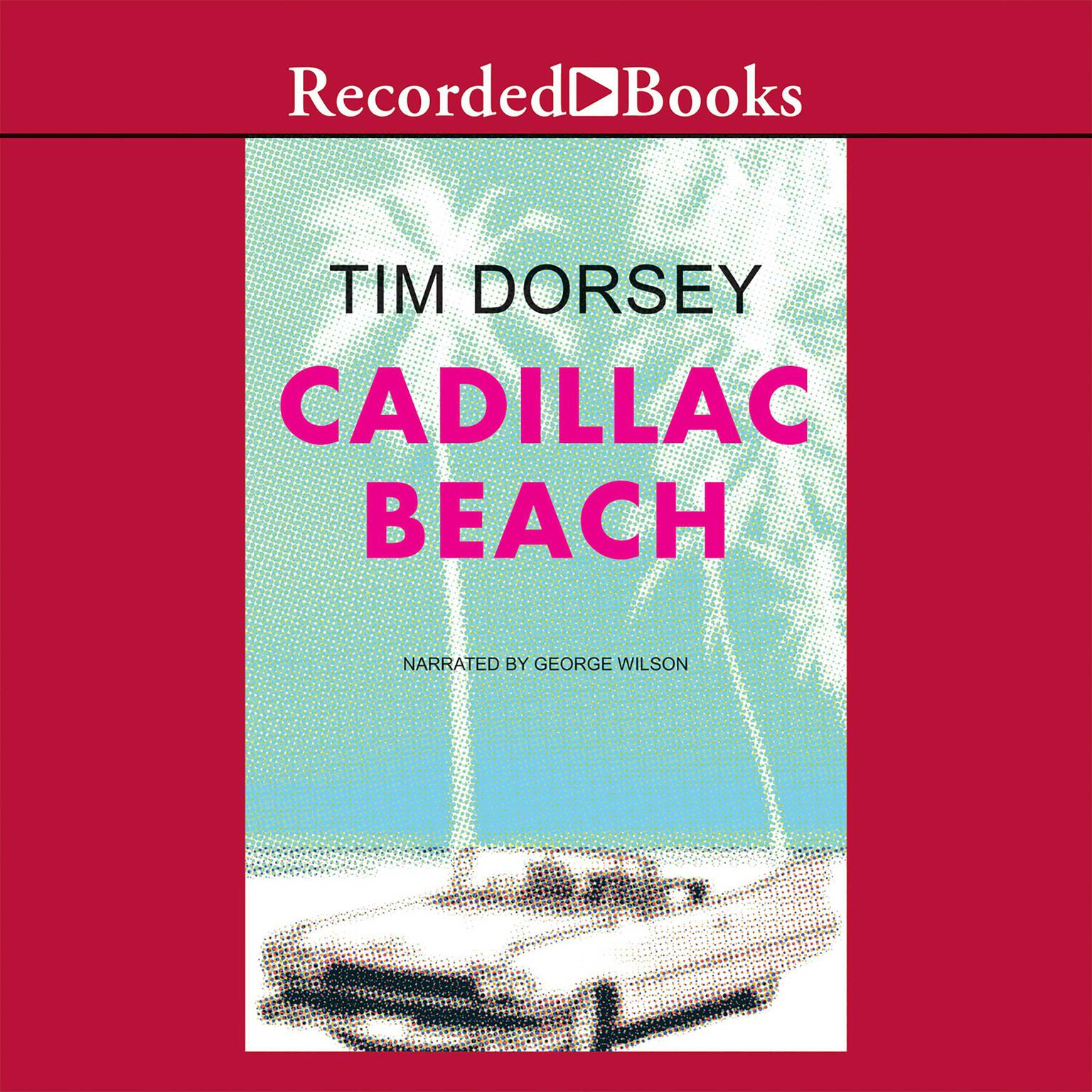 Printable Cadillac Beach Audiobook Cover Art