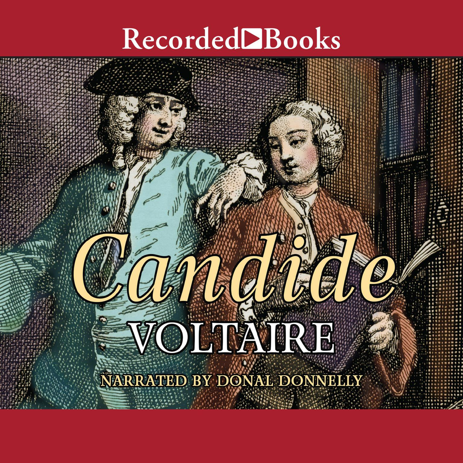 Printable Candide Audiobook Cover Art