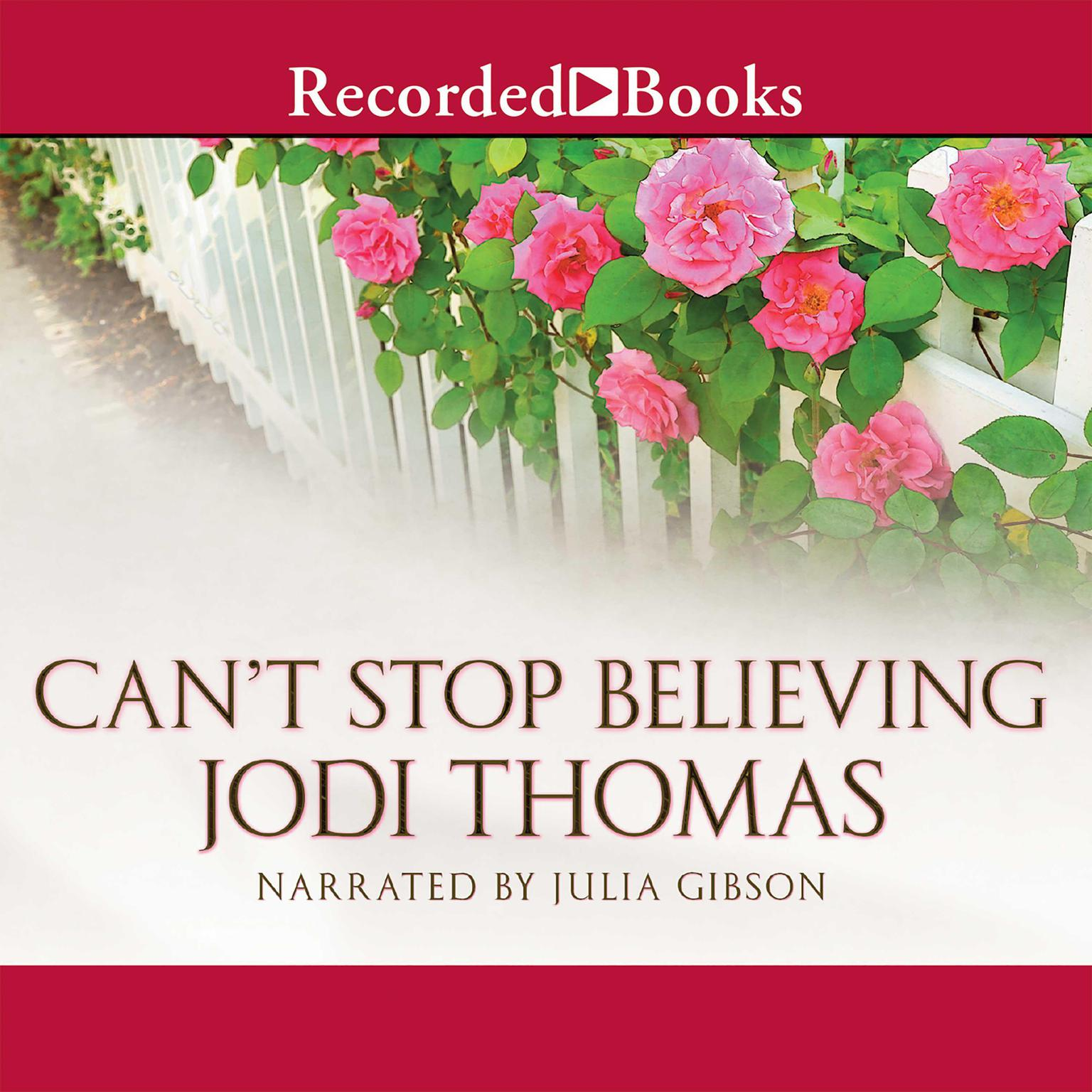 Printable Can't Stop Believing Audiobook Cover Art