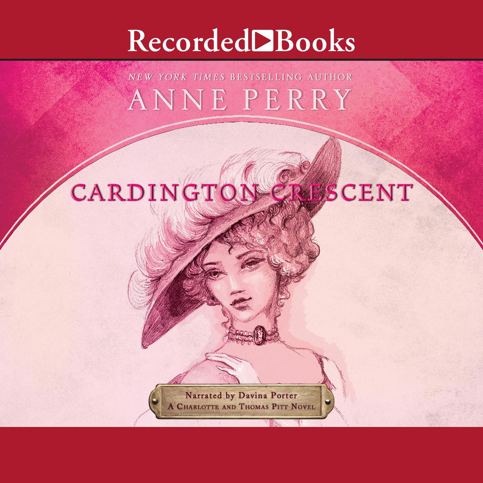 Printable Cardington Crescent Audiobook Cover Art