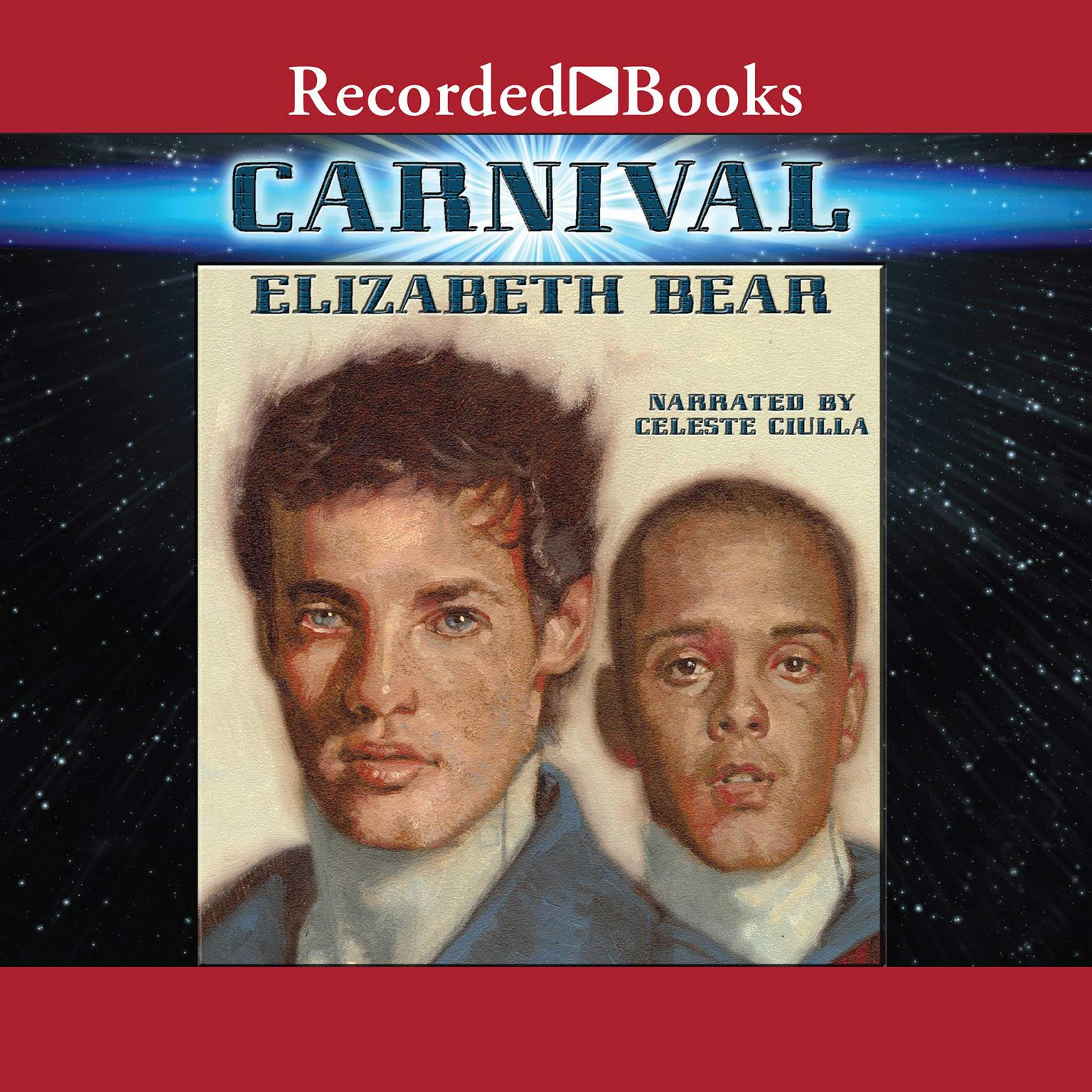 Printable Carnival Audiobook Cover Art