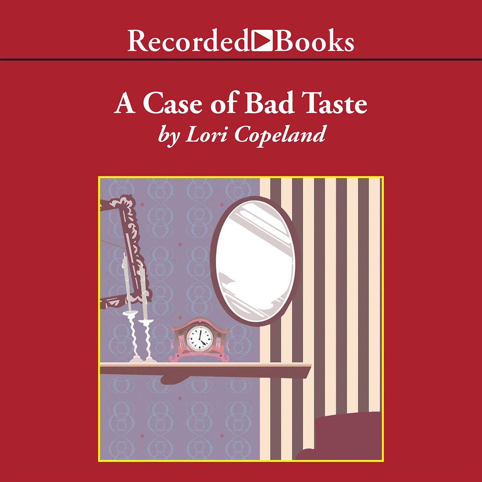 Printable A Case of Bad Taste Audiobook Cover Art