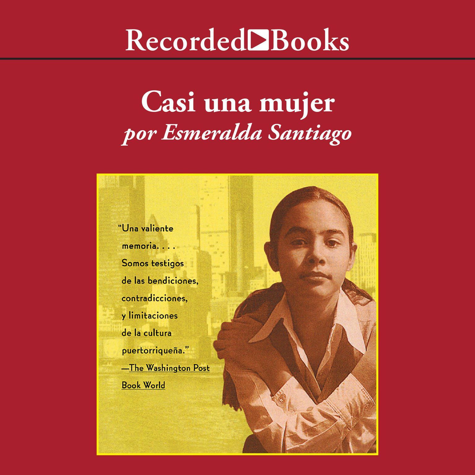 Printable Casi una mujer Audiobook Cover Art
