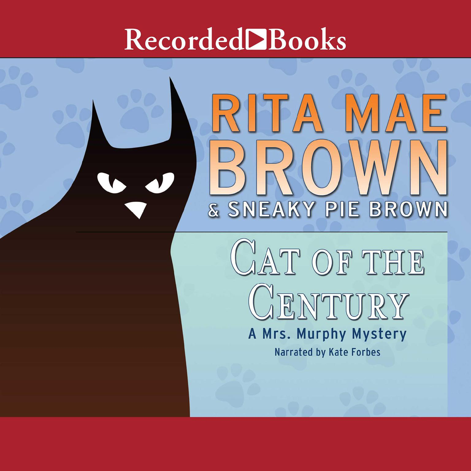 Printable Cat of the Century Audiobook Cover Art