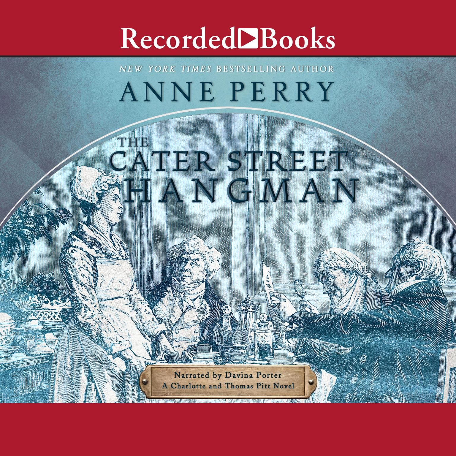Printable The Cater Street Hangman Audiobook Cover Art