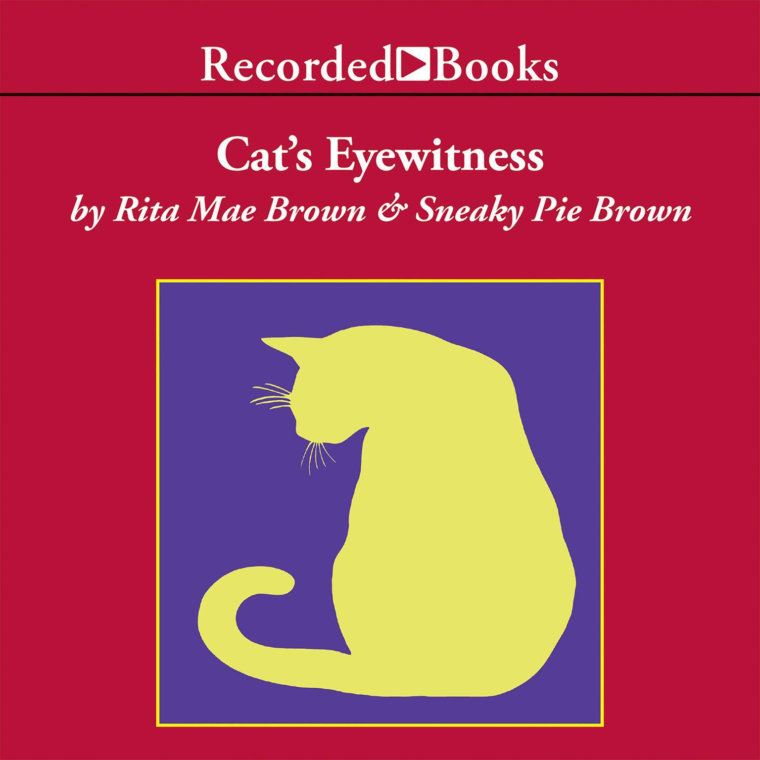 Printable Cat's Eyewitness Audiobook Cover Art