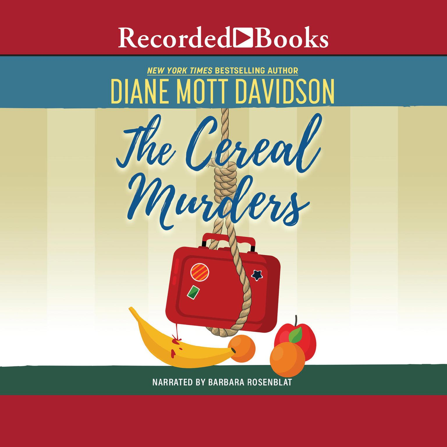 Printable The Cereal Murders Audiobook Cover Art