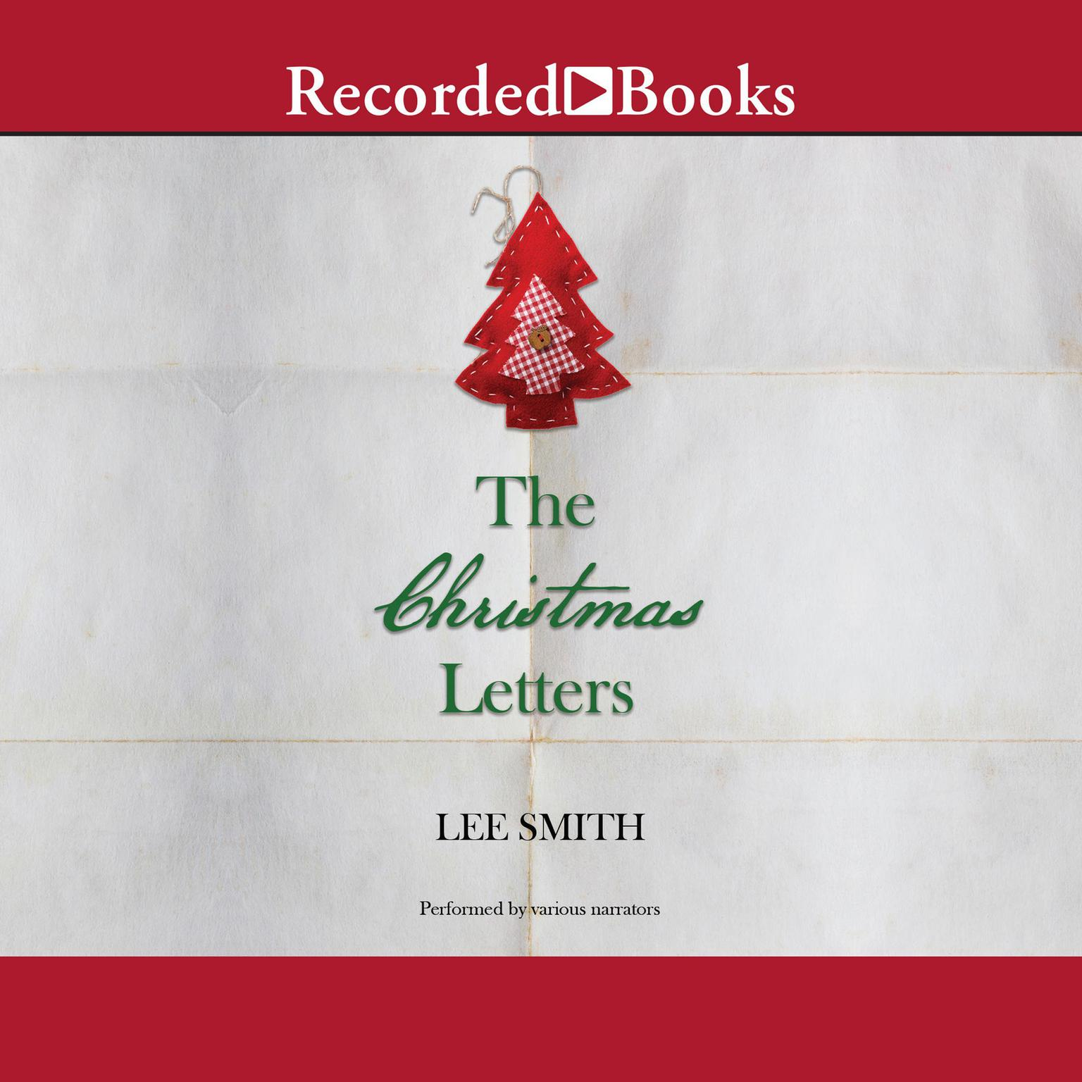 Printable The Christmas Letters Audiobook Cover Art