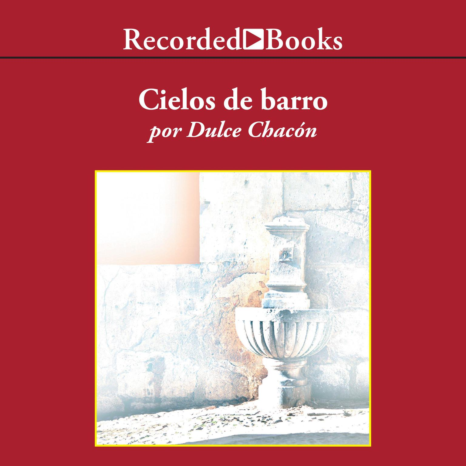Printable Cielos de barro Audiobook Cover Art