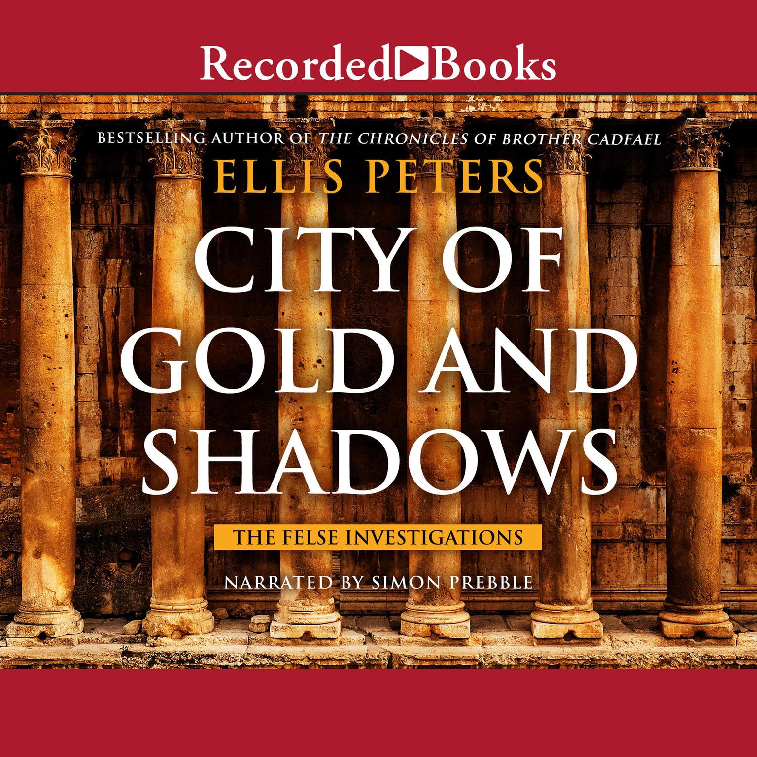 Printable City of Gold and Shadows Audiobook Cover Art