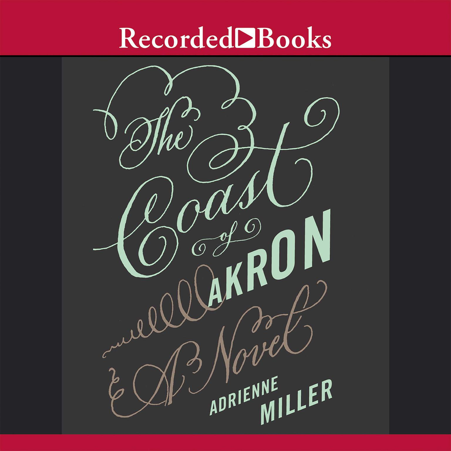Printable The Coast of Akron: A Novel Audiobook Cover Art