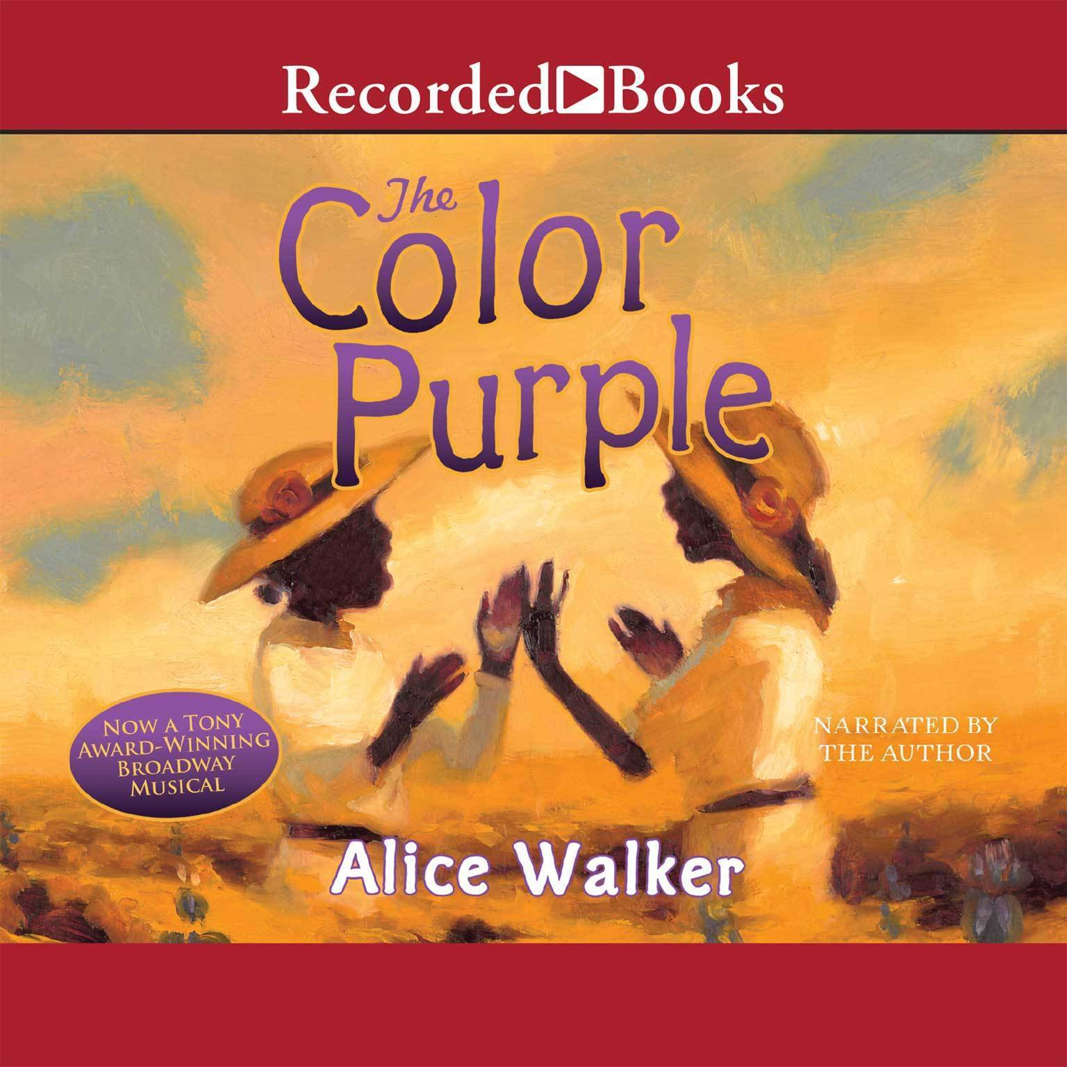 Printable The Color Purple Audiobook Cover Art