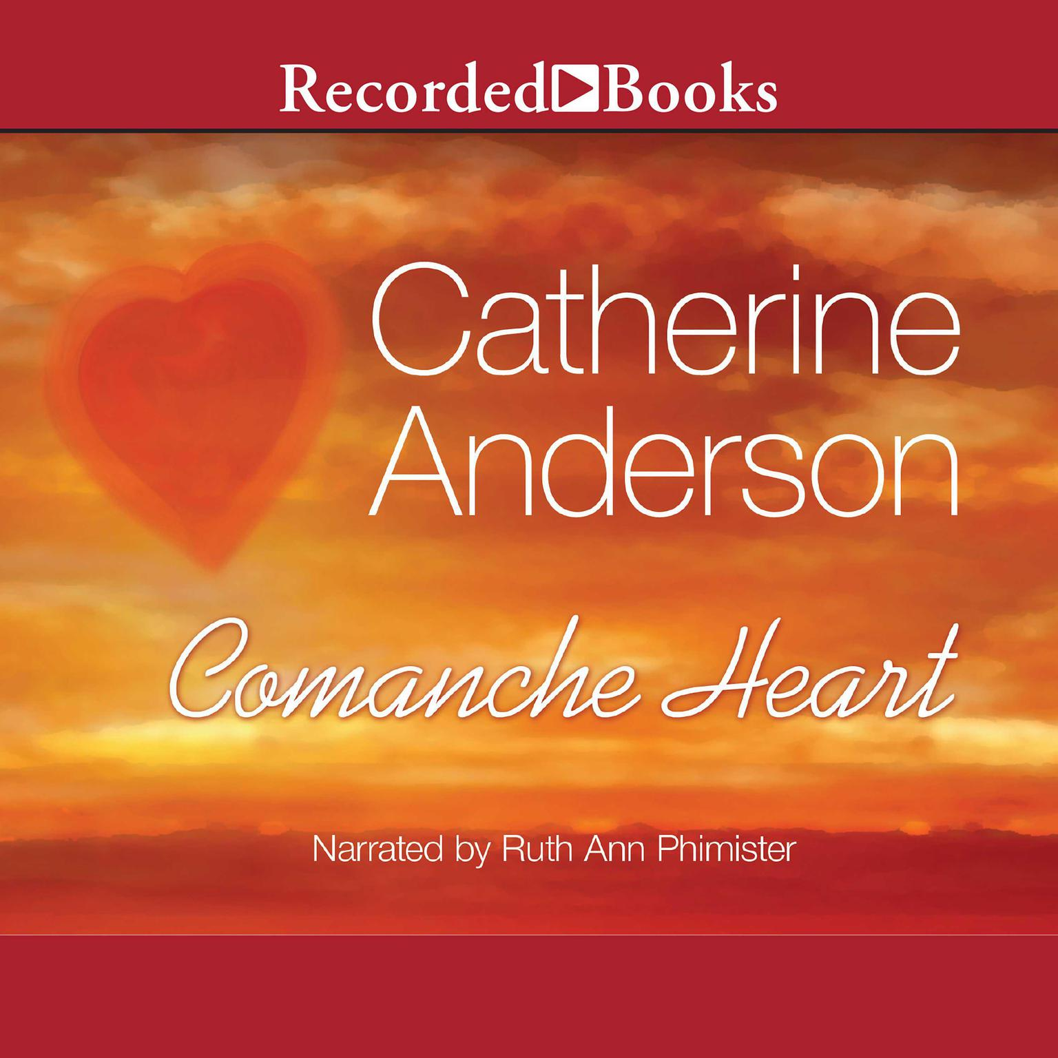 Printable Comanche Heart Audiobook Cover Art