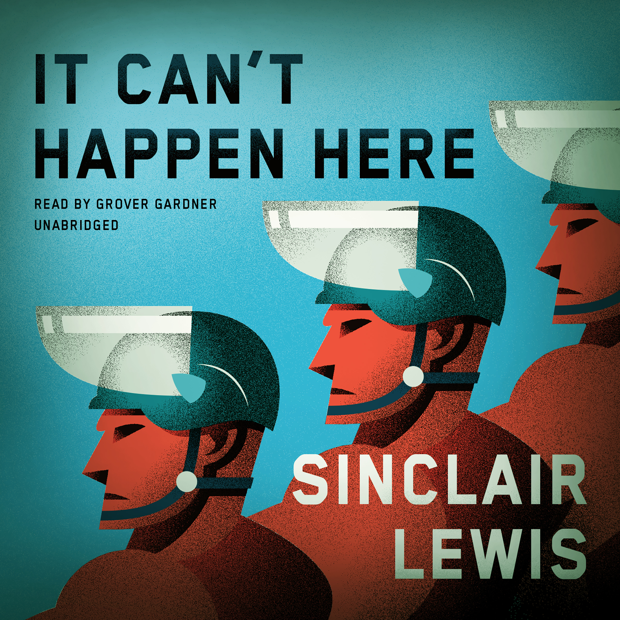 Printable It Can't Happen Here Audiobook Cover Art