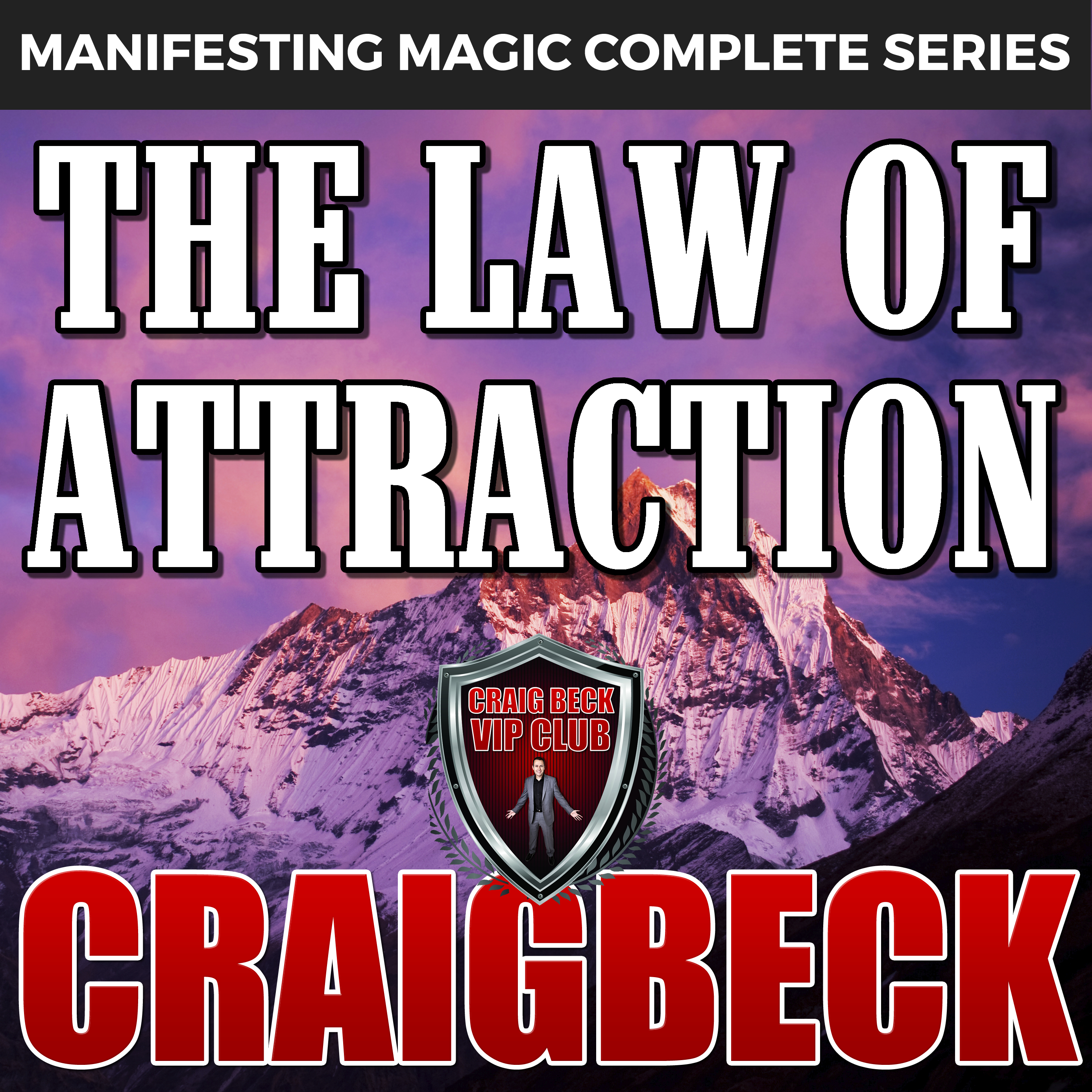 Printable The Law of Attraction: The Secret to Manifesting Magic, Money and Love Audiobook Cover Art
