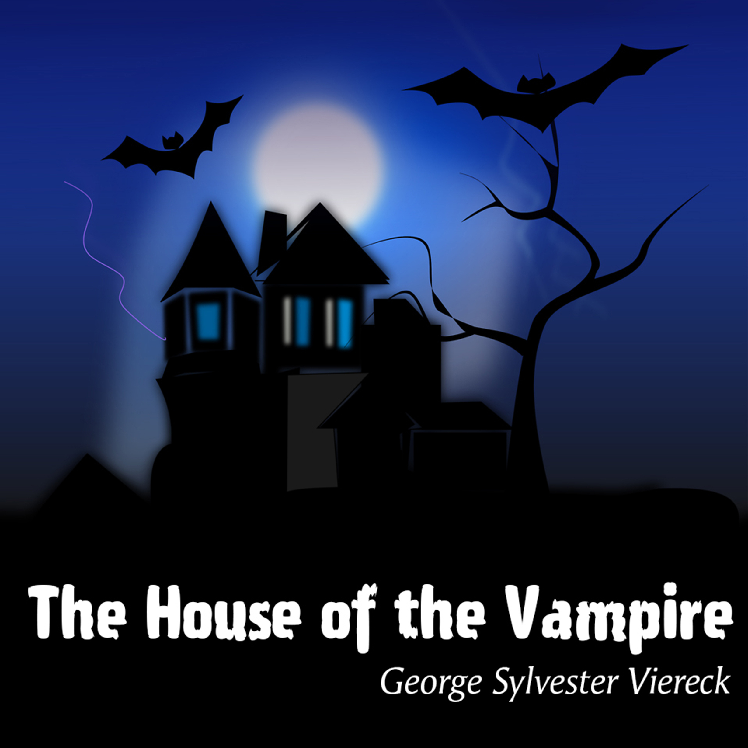 Printable The House of the Vampire Audiobook Cover Art