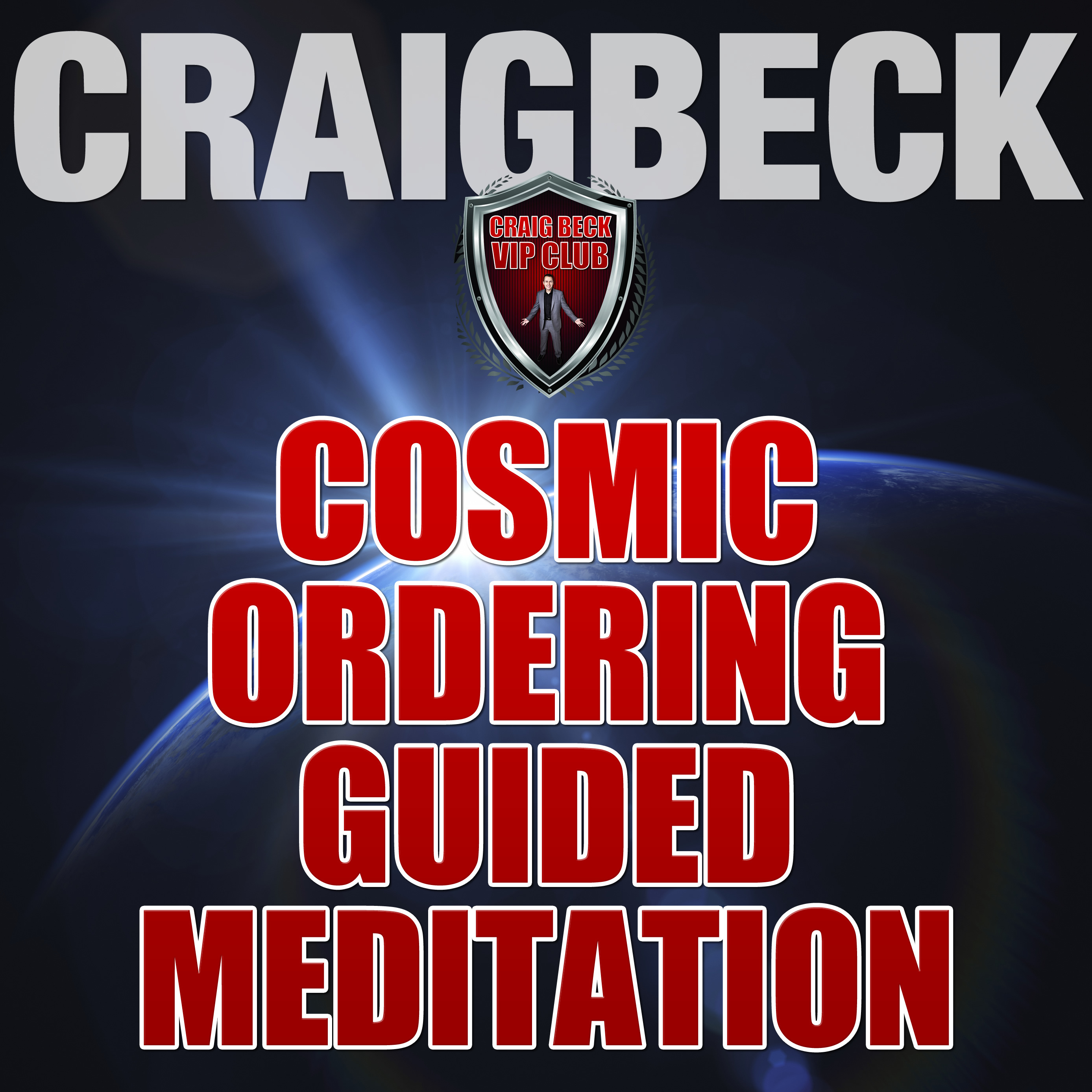 Printable Cosmic Ordering Guided Meditation: Pineal Gland Activation Audiobook Cover Art