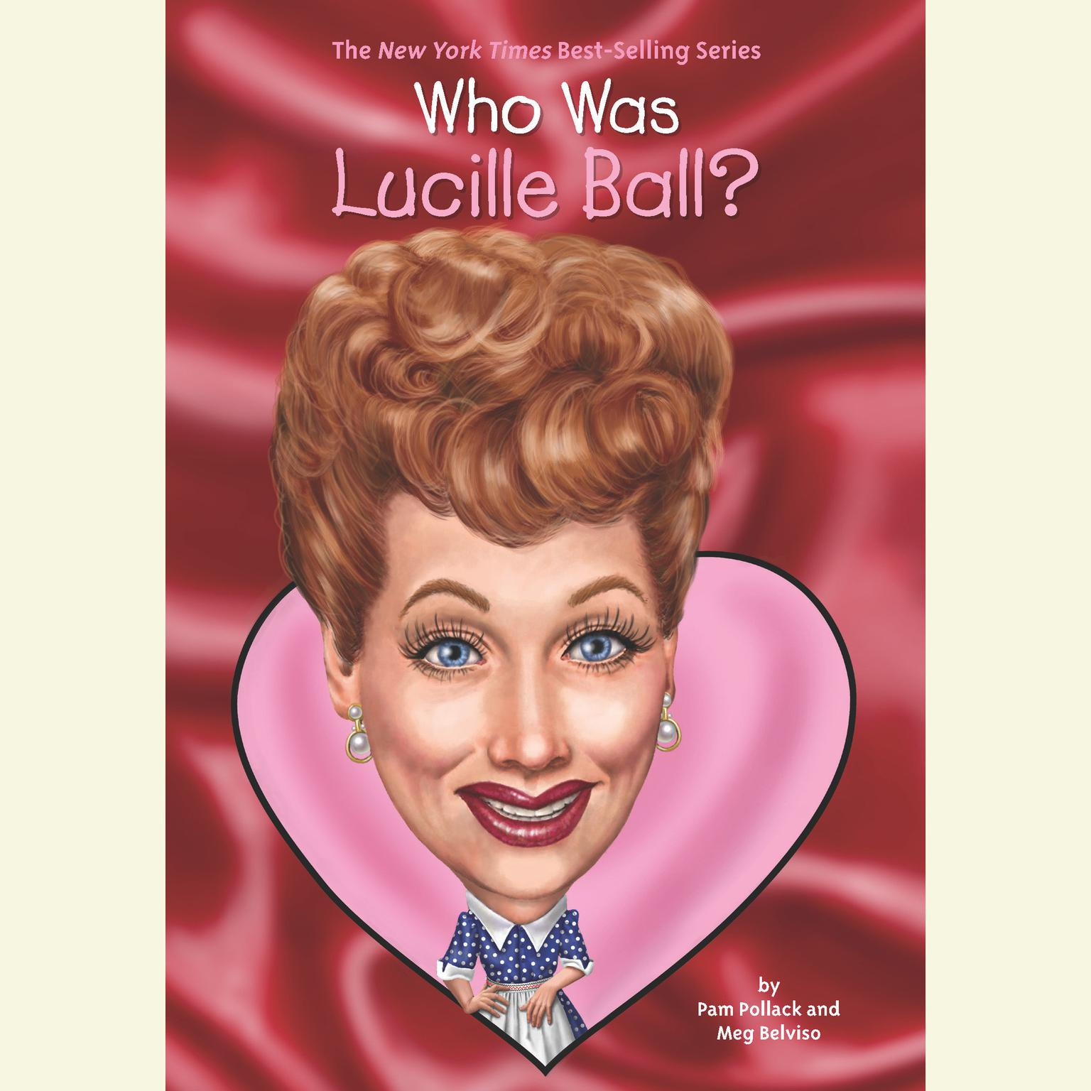 Printable Who Was Lucille Ball? Audiobook Cover Art