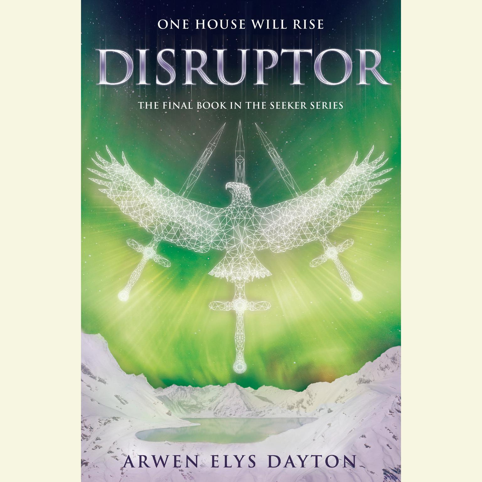 Printable Disruptor Audiobook Cover Art