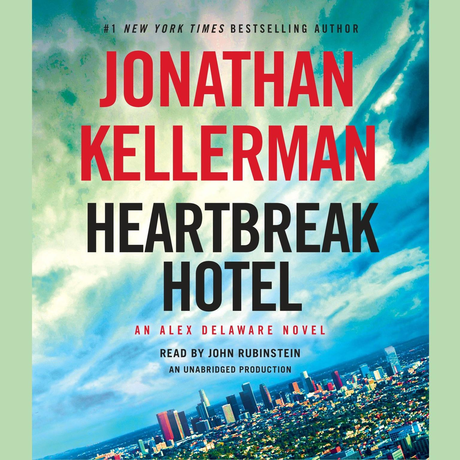 Printable Heartbreak Hotel: An Alex Delaware Novel Audiobook Cover Art