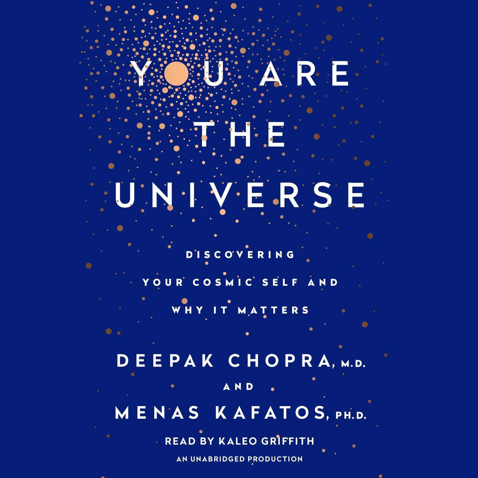 Printable You Are the Universe: Discovering Your Cosmic Self and Why It Matters Audiobook Cover Art
