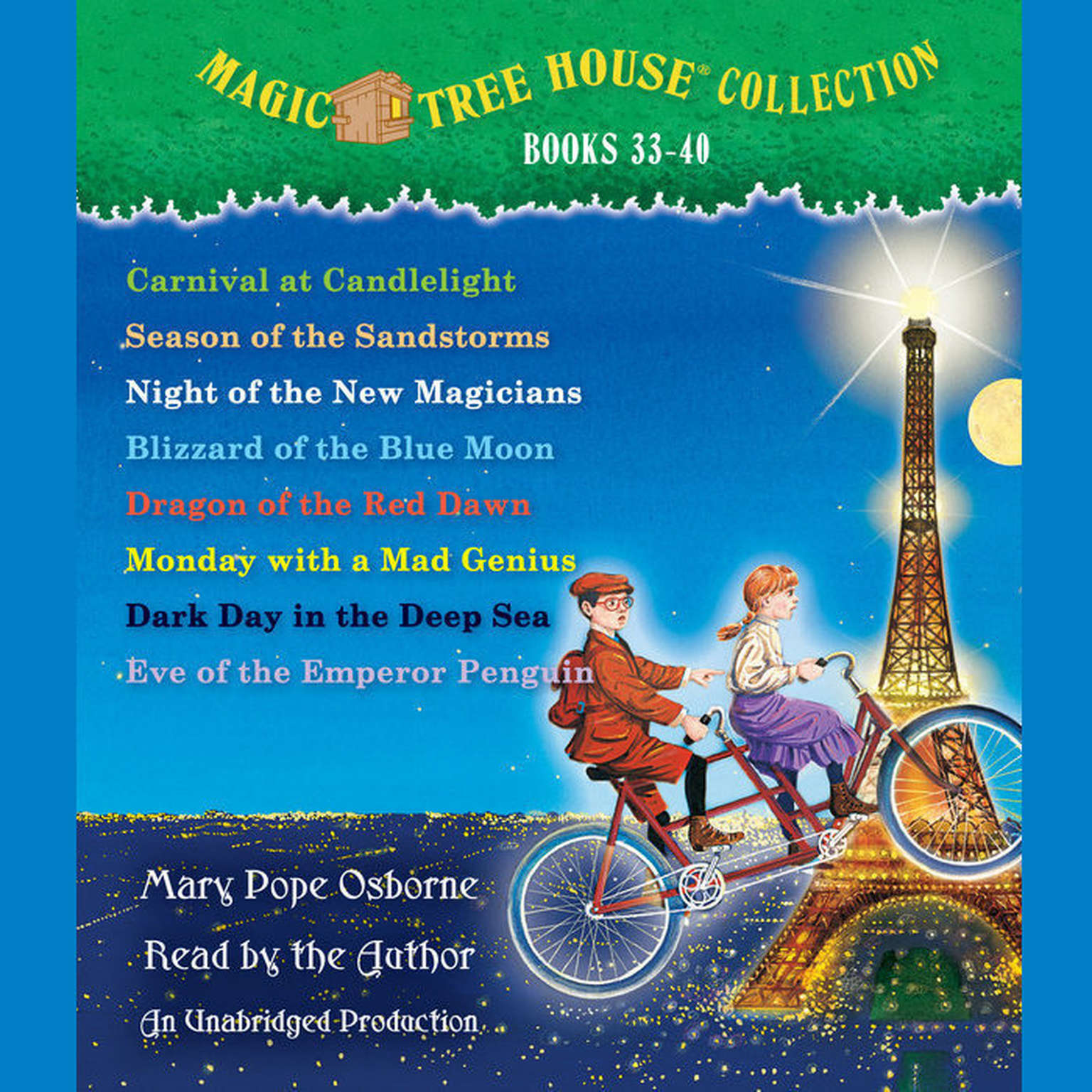 Author Of Magic Treehouse Books Part - 19: Extended Audio Sample Magic Tree House Collection: Books 33-40 Audiobook,  By Mary Pope Osborne