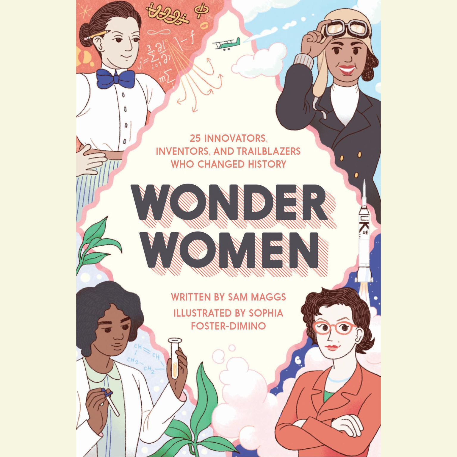 Printable Wonder Women: 25 Innovators, Inventors, and Trailblazers Who Changed History Audiobook Cover Art