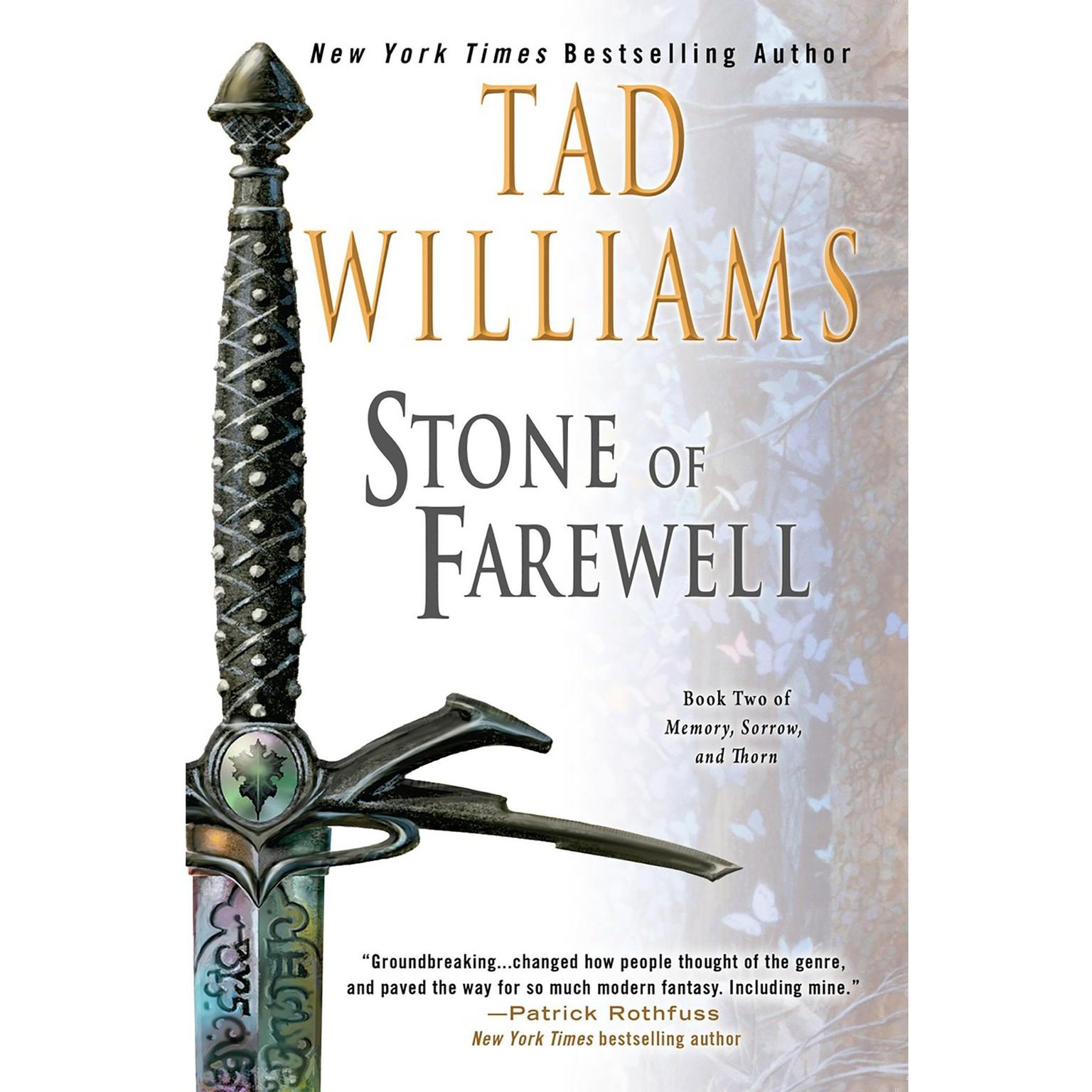 Printable The Stone of Farewell: Book Two of Memory, Sorrow, and Thorn Audiobook Cover Art