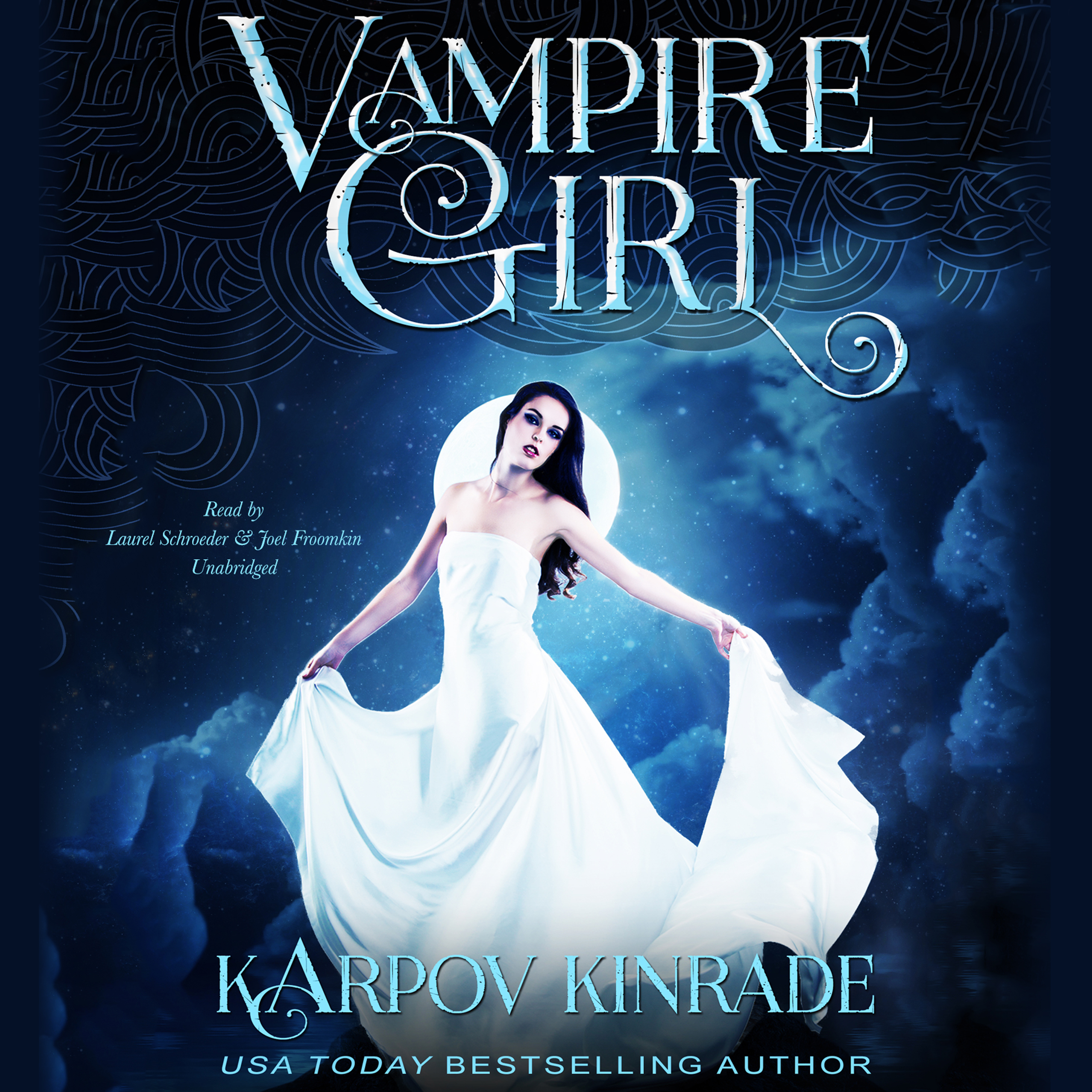 Printable Vampire Girl Audiobook Cover Art