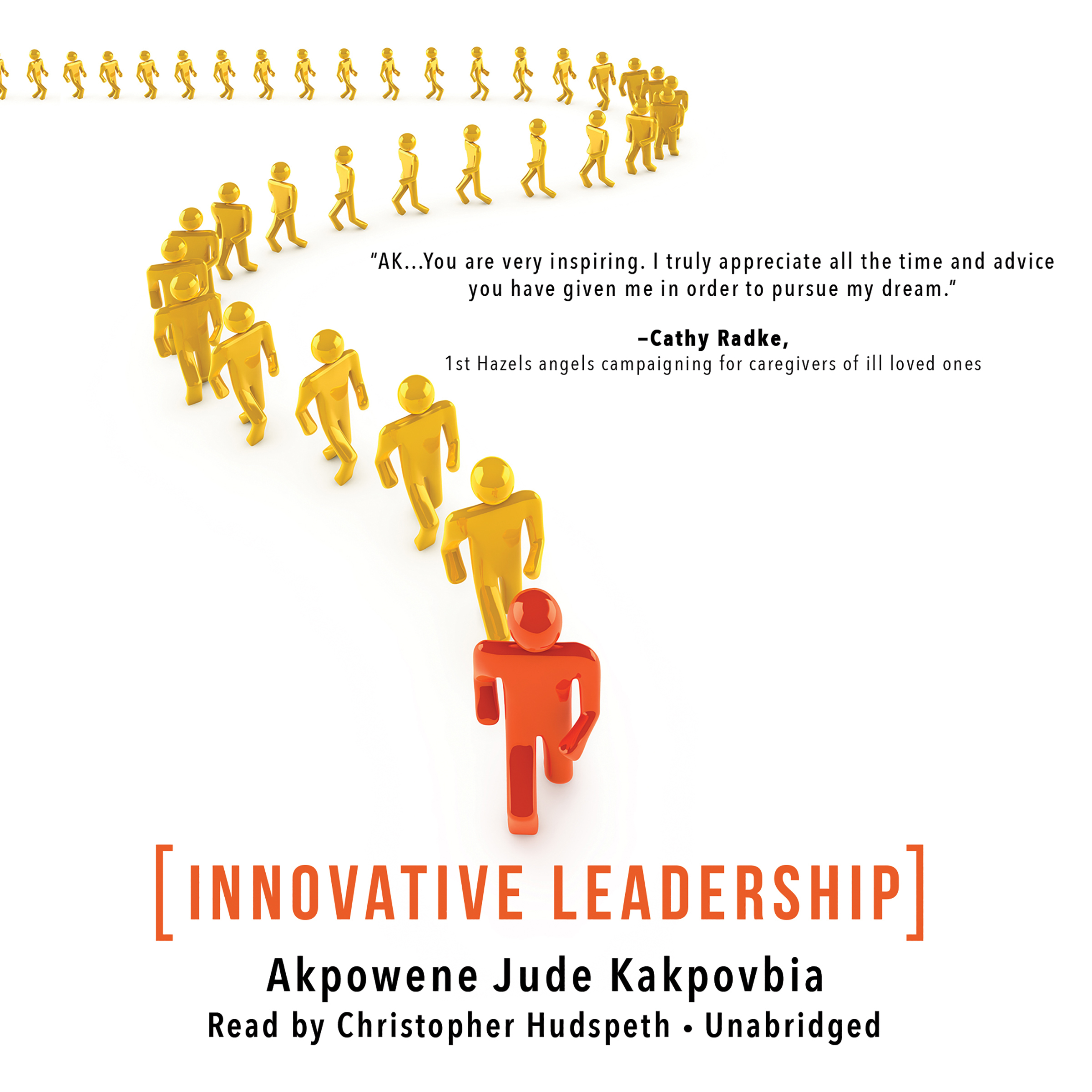 Printable Innovative Leadership Audiobook Cover Art