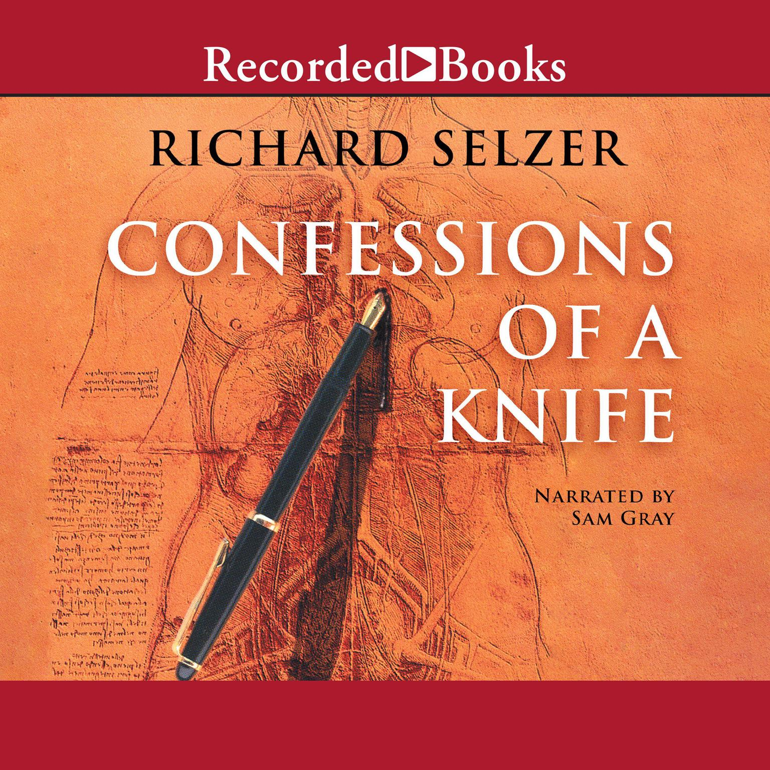 Printable Confessions of a Knife Audiobook Cover Art