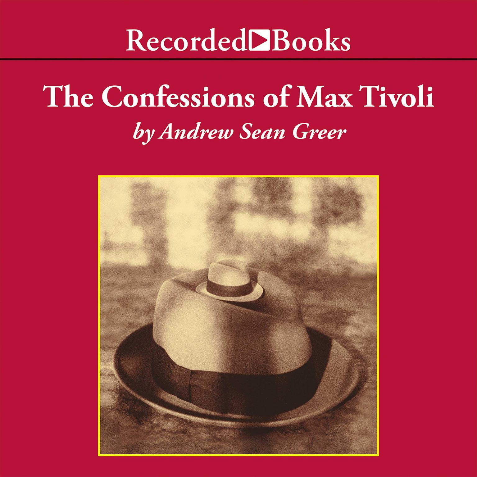 Printable The Confessions of Max Tivoli Audiobook Cover Art