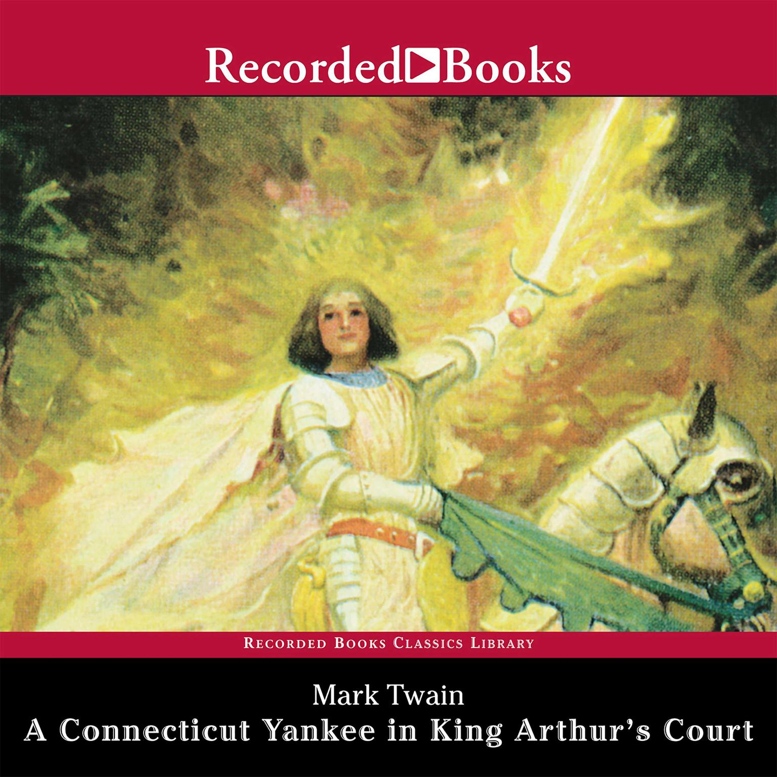 Printable A Connecticut Yankee in King Arthur's Court Audiobook Cover Art