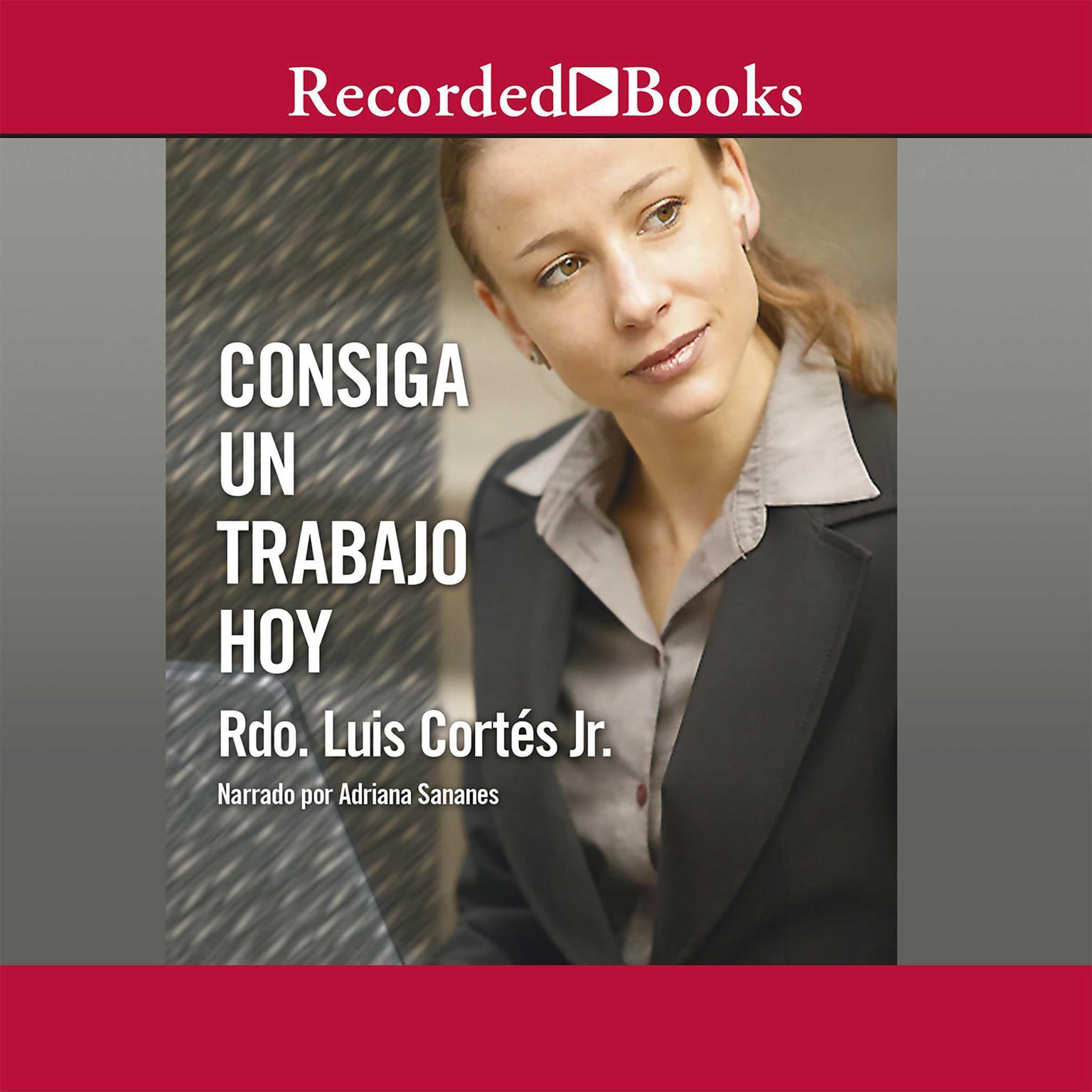 Printable Consiga un trabajo hoy Audiobook Cover Art